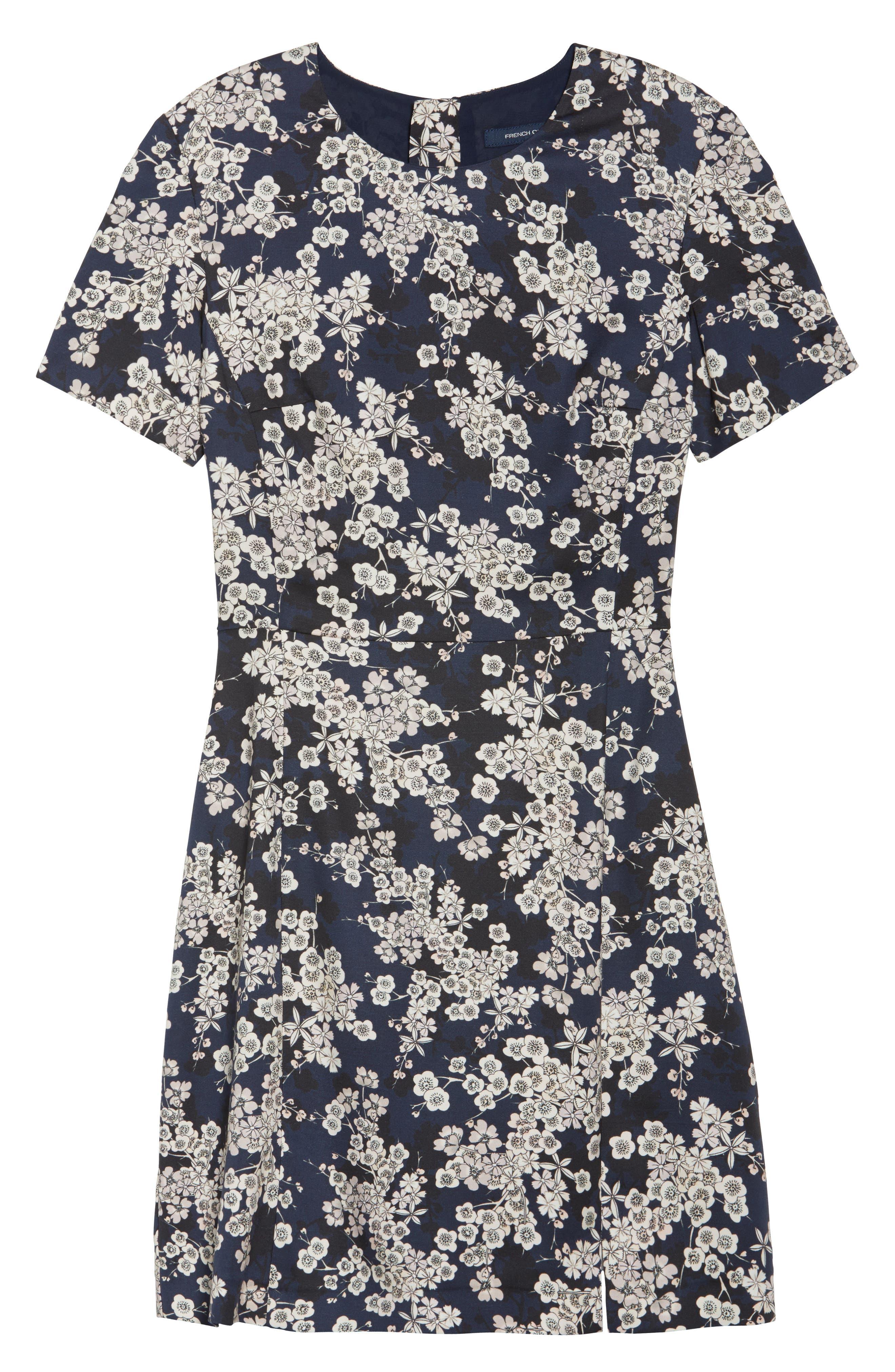 Rishiri Sheath Dress,                             Alternate thumbnail 7, color,                             Nocturnal Multi