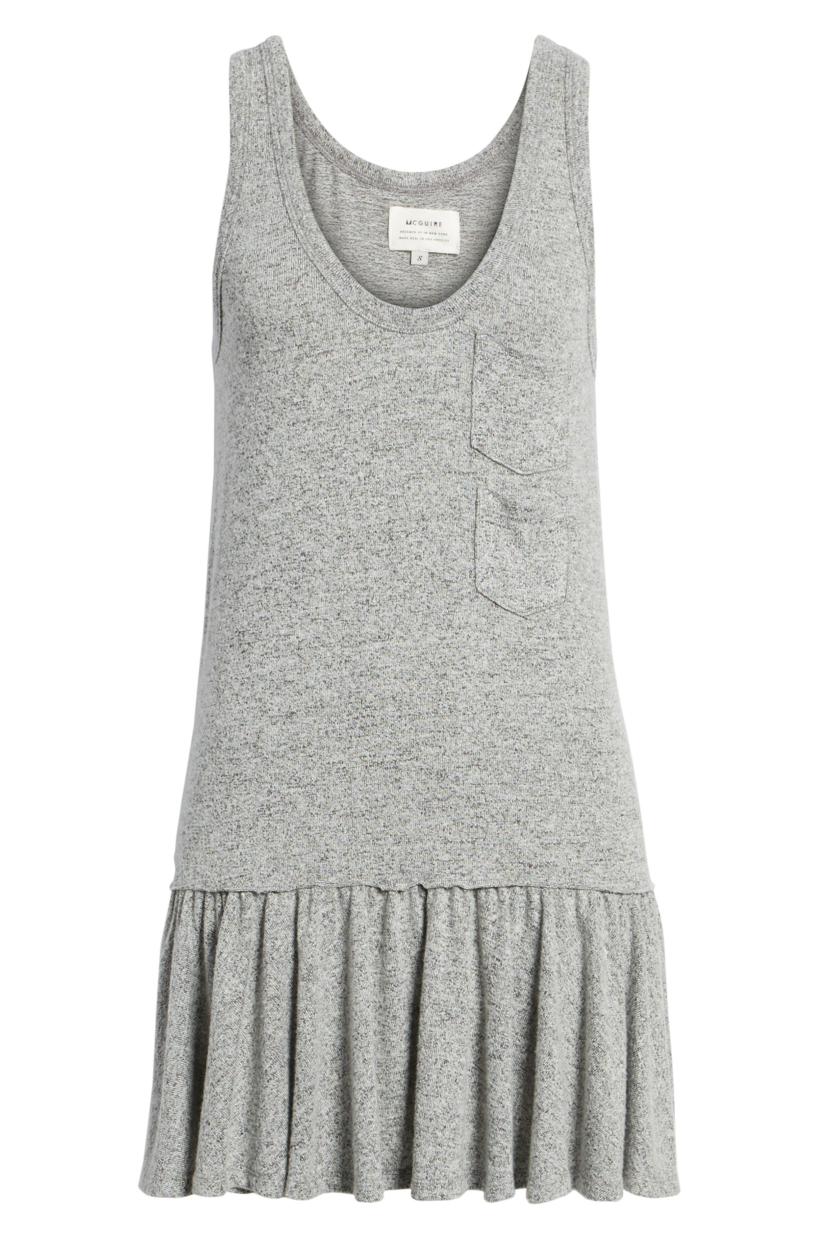 Summer in the City Tank Dress,                             Alternate thumbnail 6, color,                             Heather