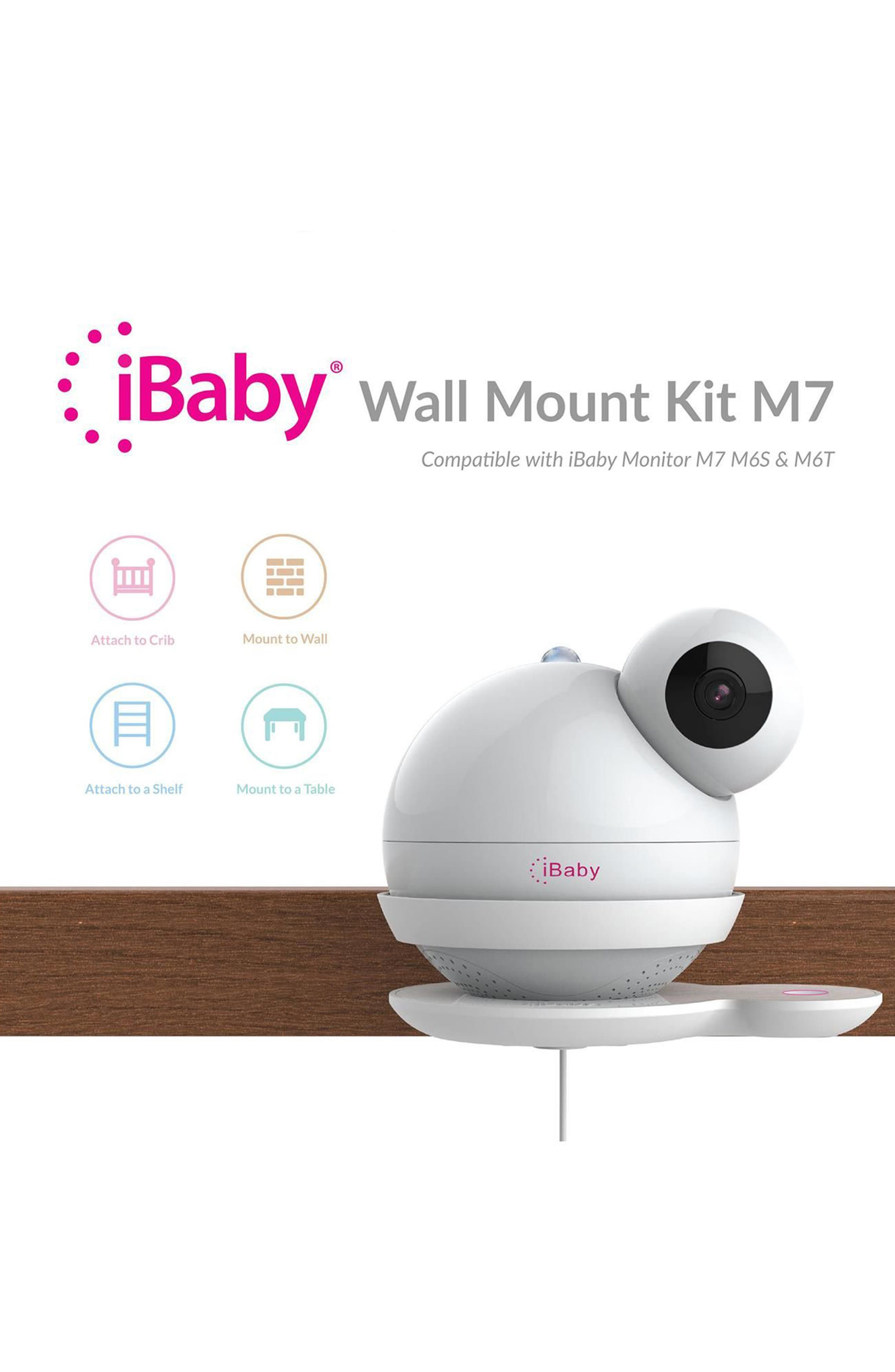 M7 Wall Mount Kit,                             Alternate thumbnail 4, color,                             White