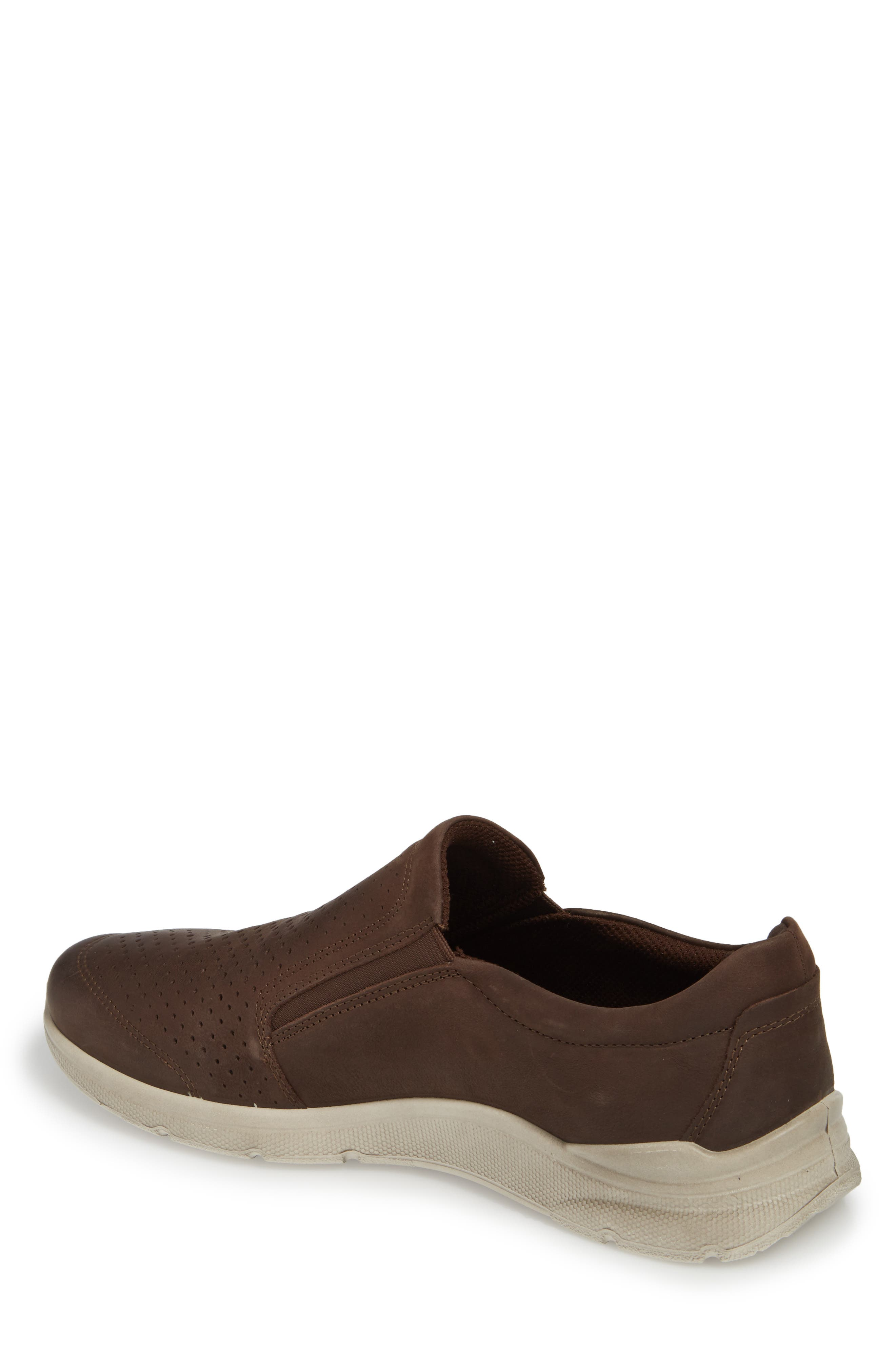 Irving Slip-On,                             Alternate thumbnail 2, color,                             Coffee Leather