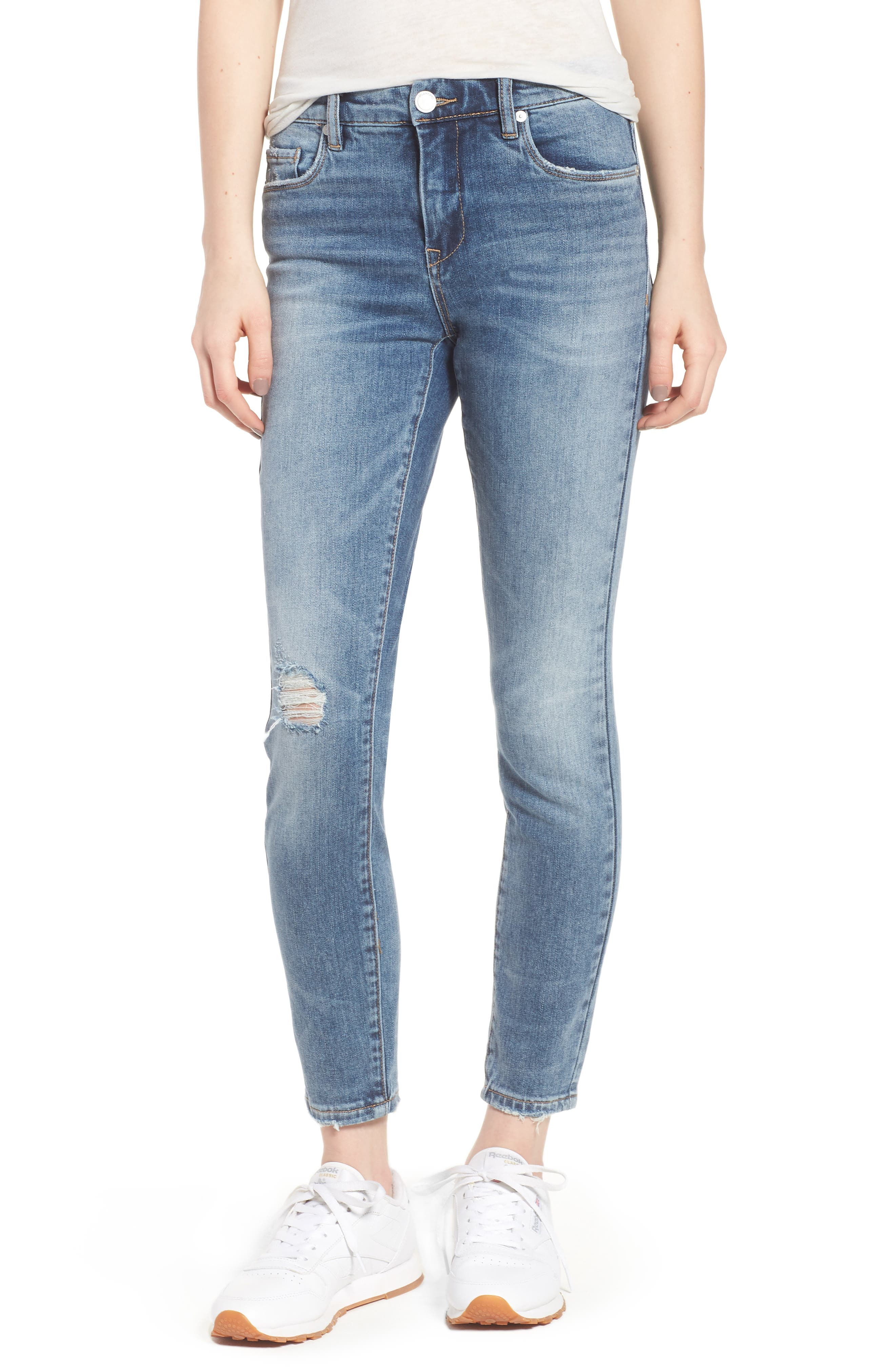 Trip Switch Distressed Skinny Jeans,                         Main,                         color, Trip Switch