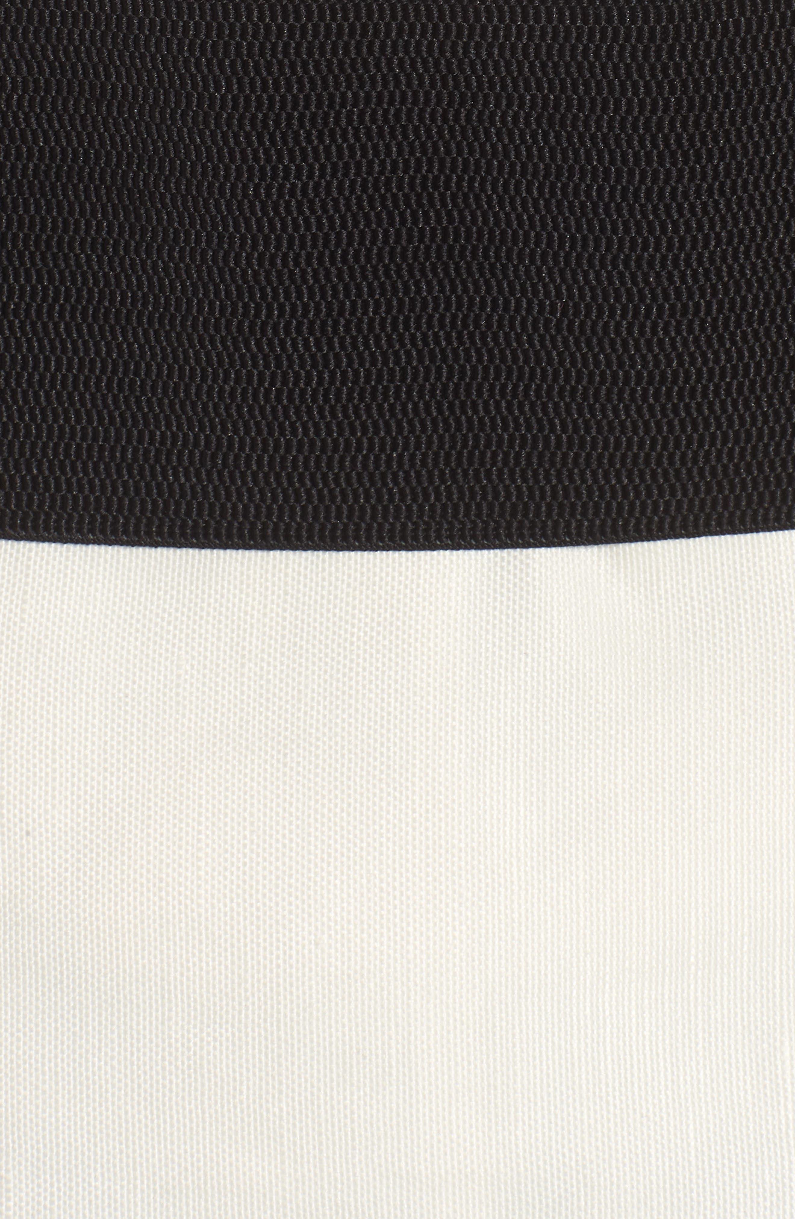 Corset Linen Blend Blazer,                             Alternate thumbnail 5, color,                             Ivory