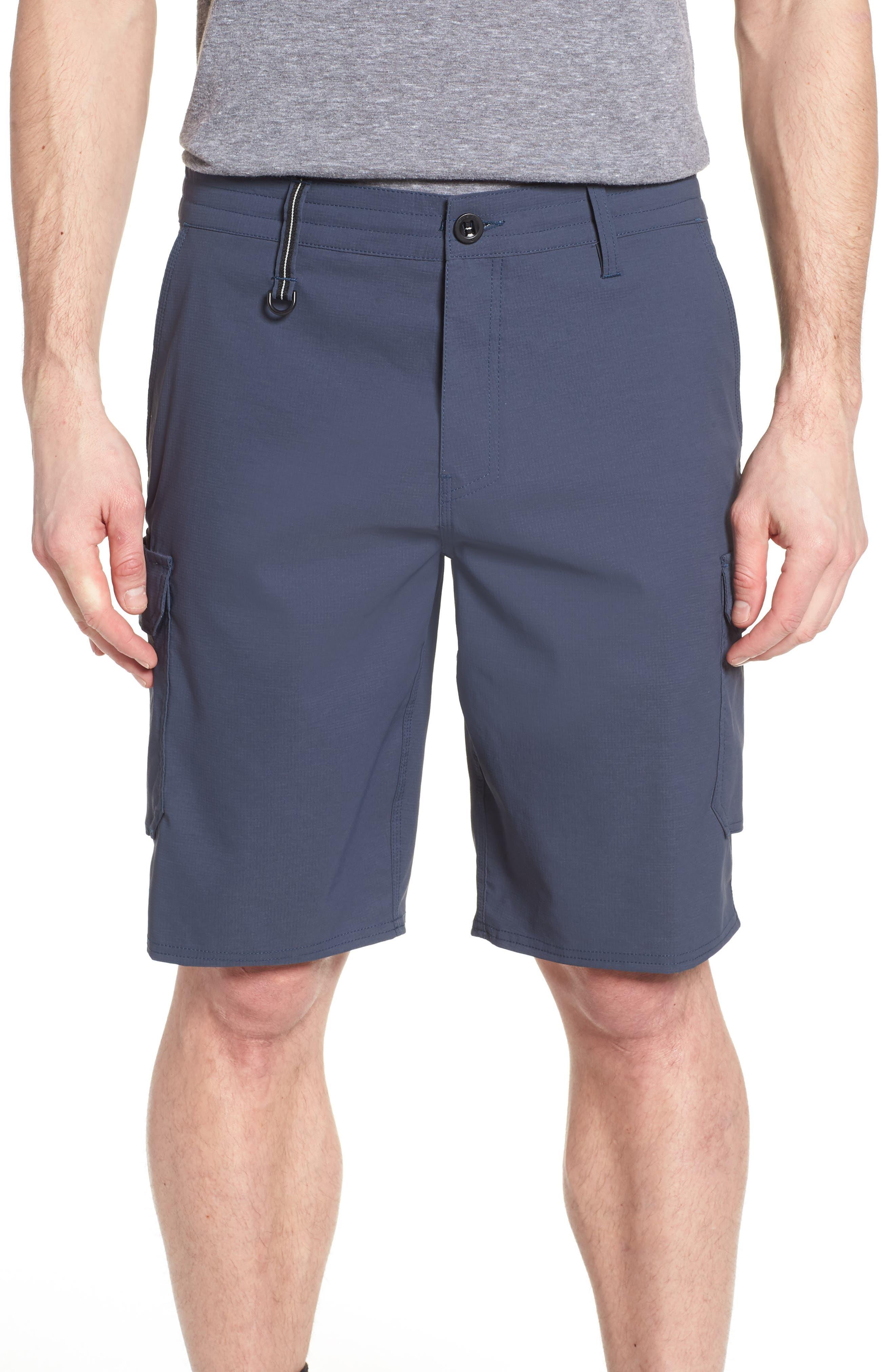 Traveler Cargo Board Shorts,                         Main,                         color, Slate