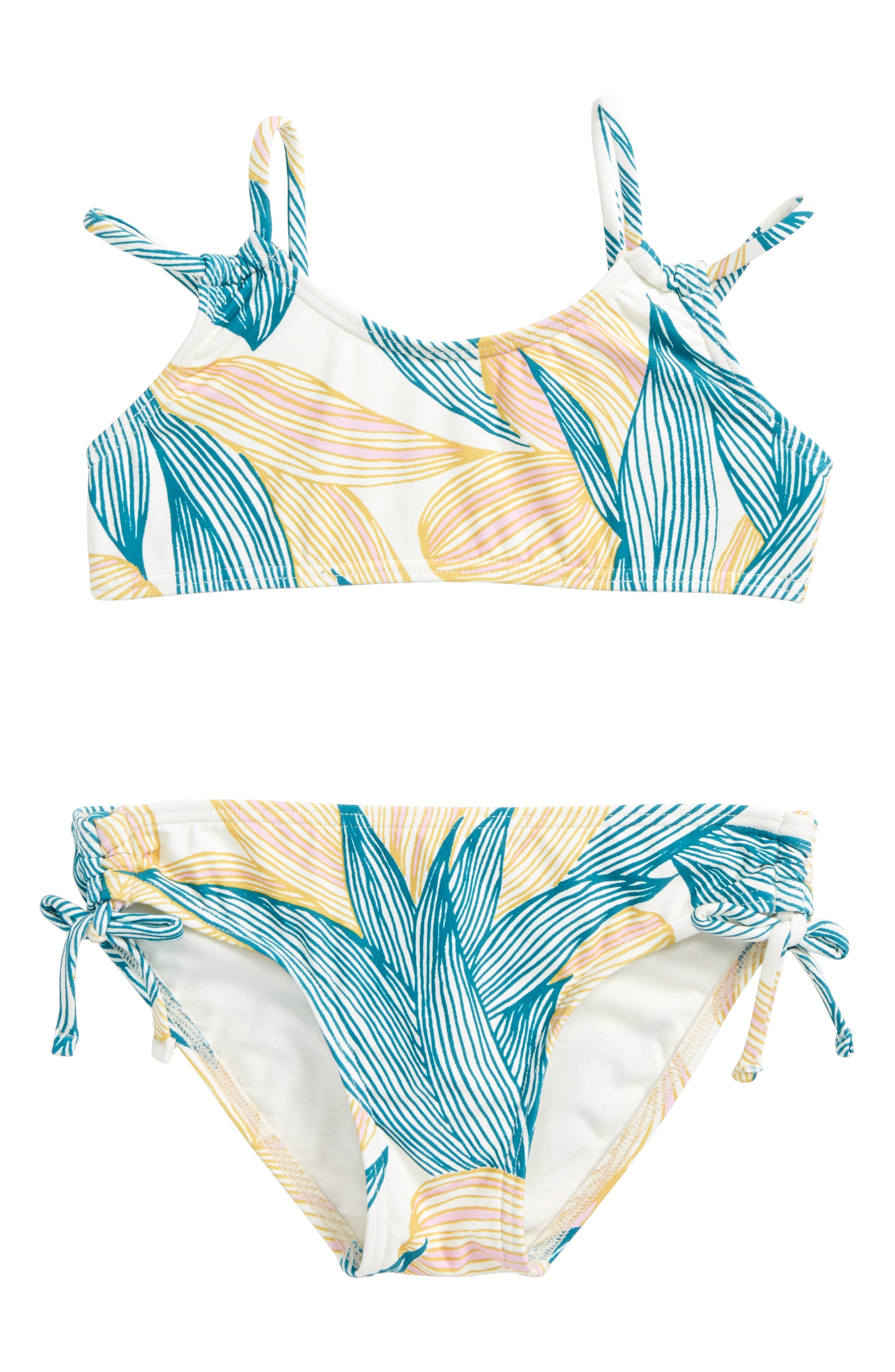 Bethany Two-Piece Swimsuit,                             Main thumbnail 1, color,                             Island Turquoise