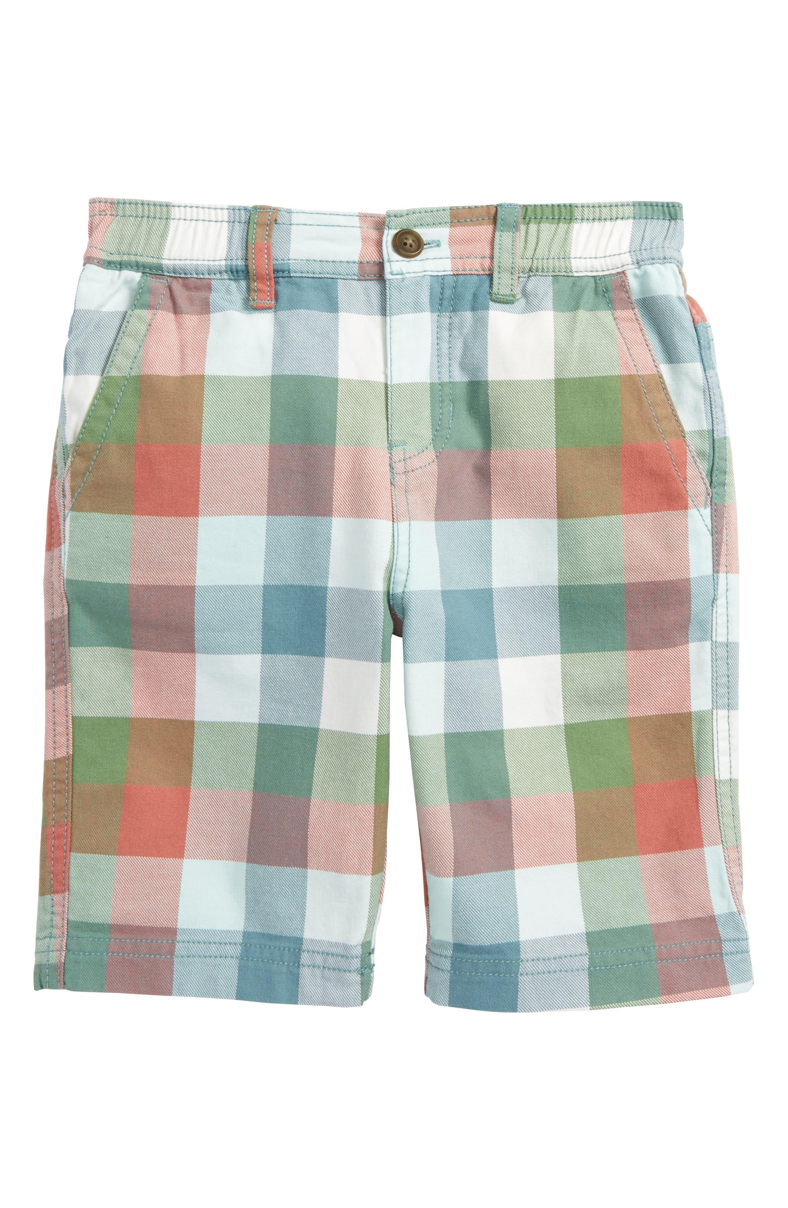 Check Canvas Shorts,                         Main,                         color, Classic Plaid