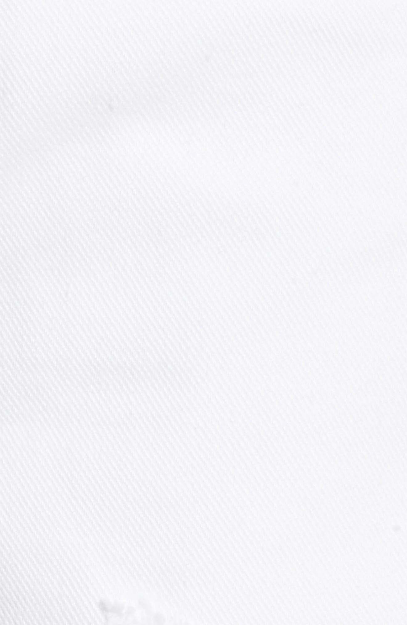 Parker Distressed Denim Shorts,                             Alternate thumbnail 6, color,                             Detour