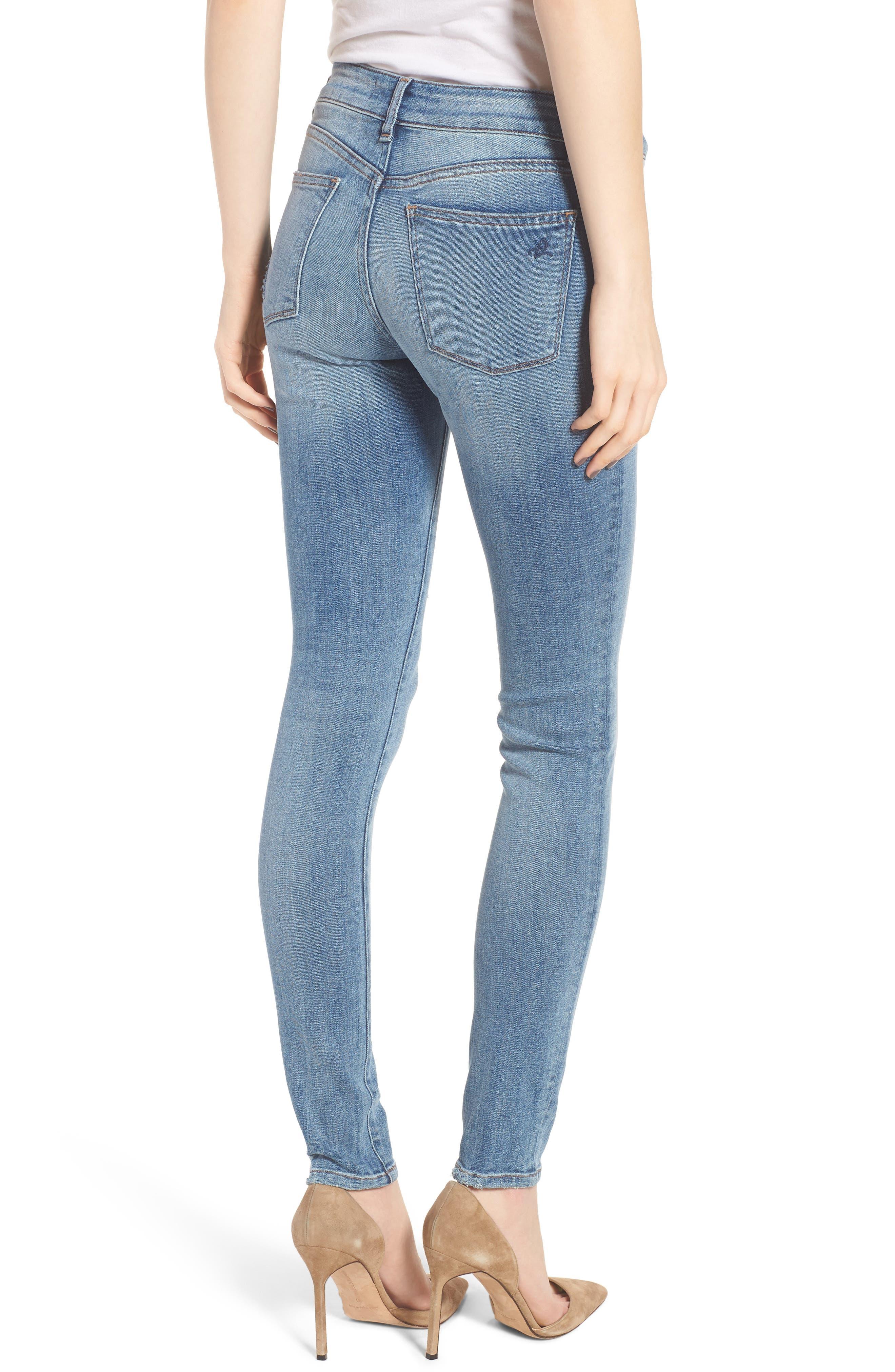 Florence Instasculpt Skinny Jeans,                             Alternate thumbnail 2, color,                             Delano