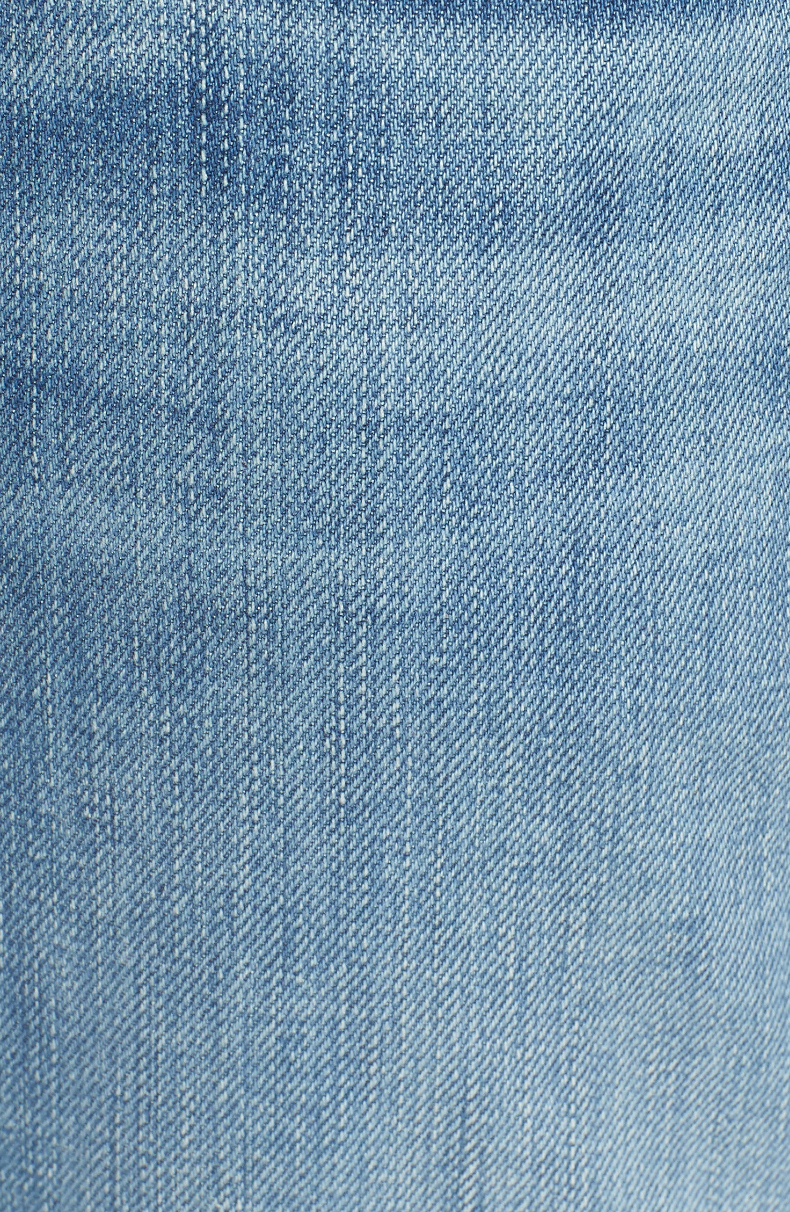 The Straight Slim Straight Leg Jeans,                             Alternate thumbnail 5, color,                             Valhalla