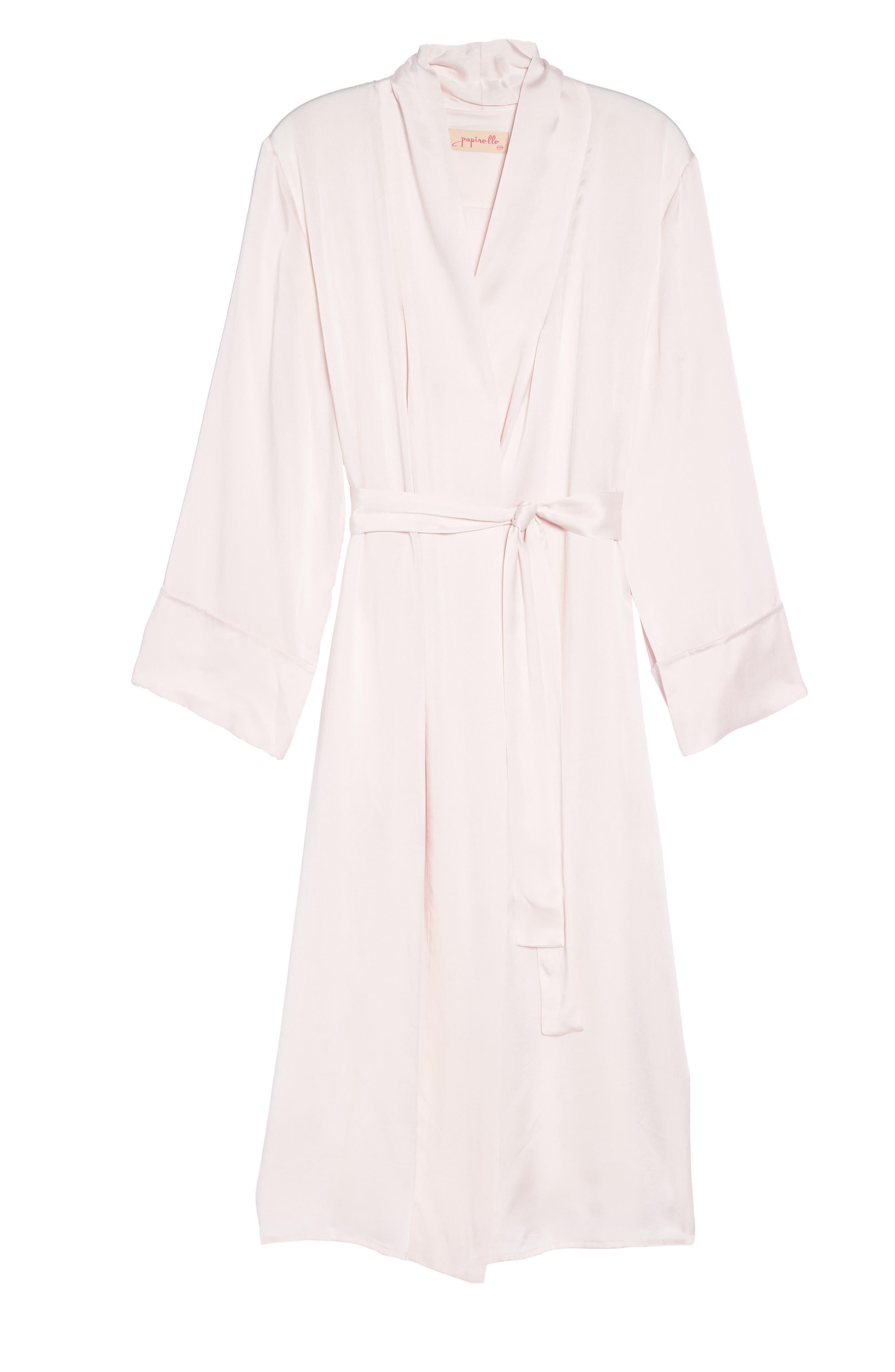 Alternate Image 4  - Papinelle Silk Robe