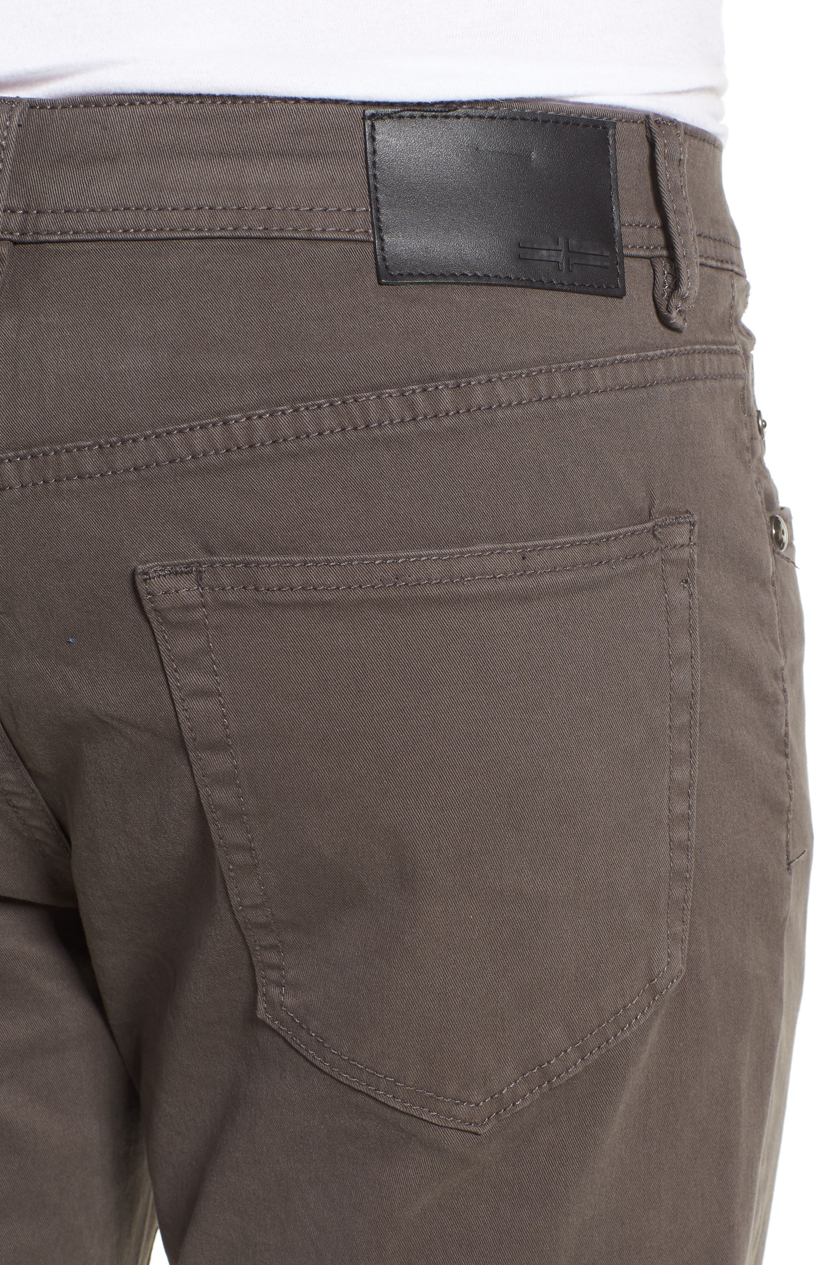 Jeans Co. Regent Relaxed Fit Jeans,                             Alternate thumbnail 4, color,                             Deep Earth