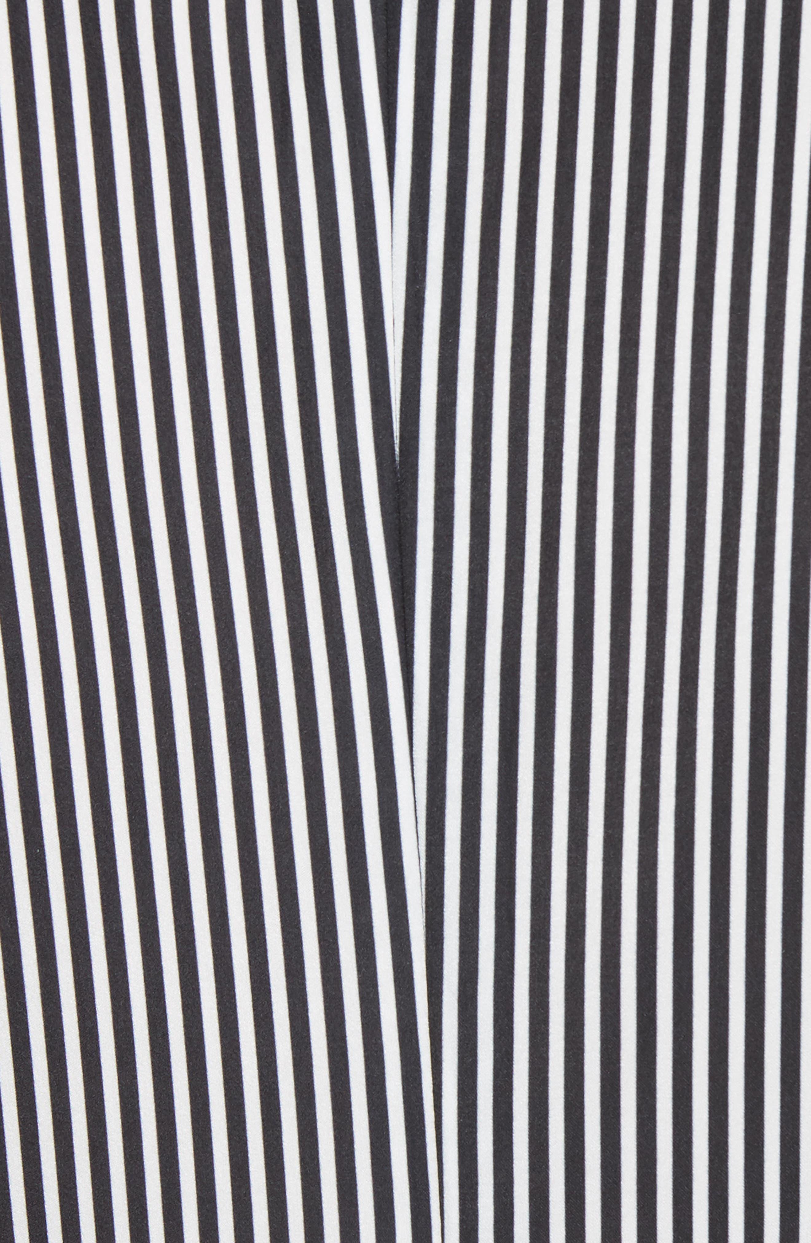 Radise Cold Shoulder Ruffled Minidress,                             Alternate thumbnail 5, color,                             Stripe