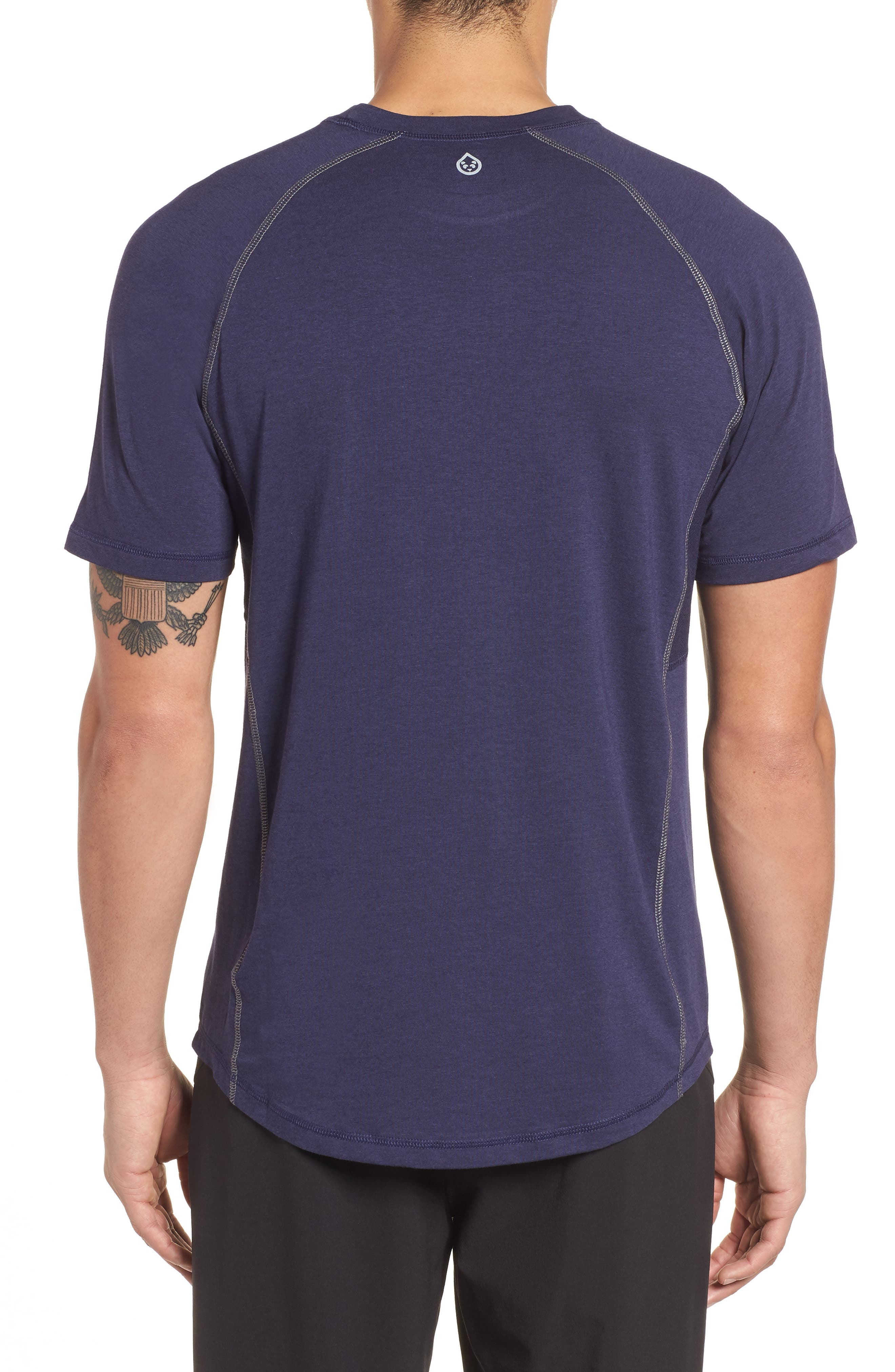 Charge II T-Shirt,                             Alternate thumbnail 2, color,                             Classic Navy