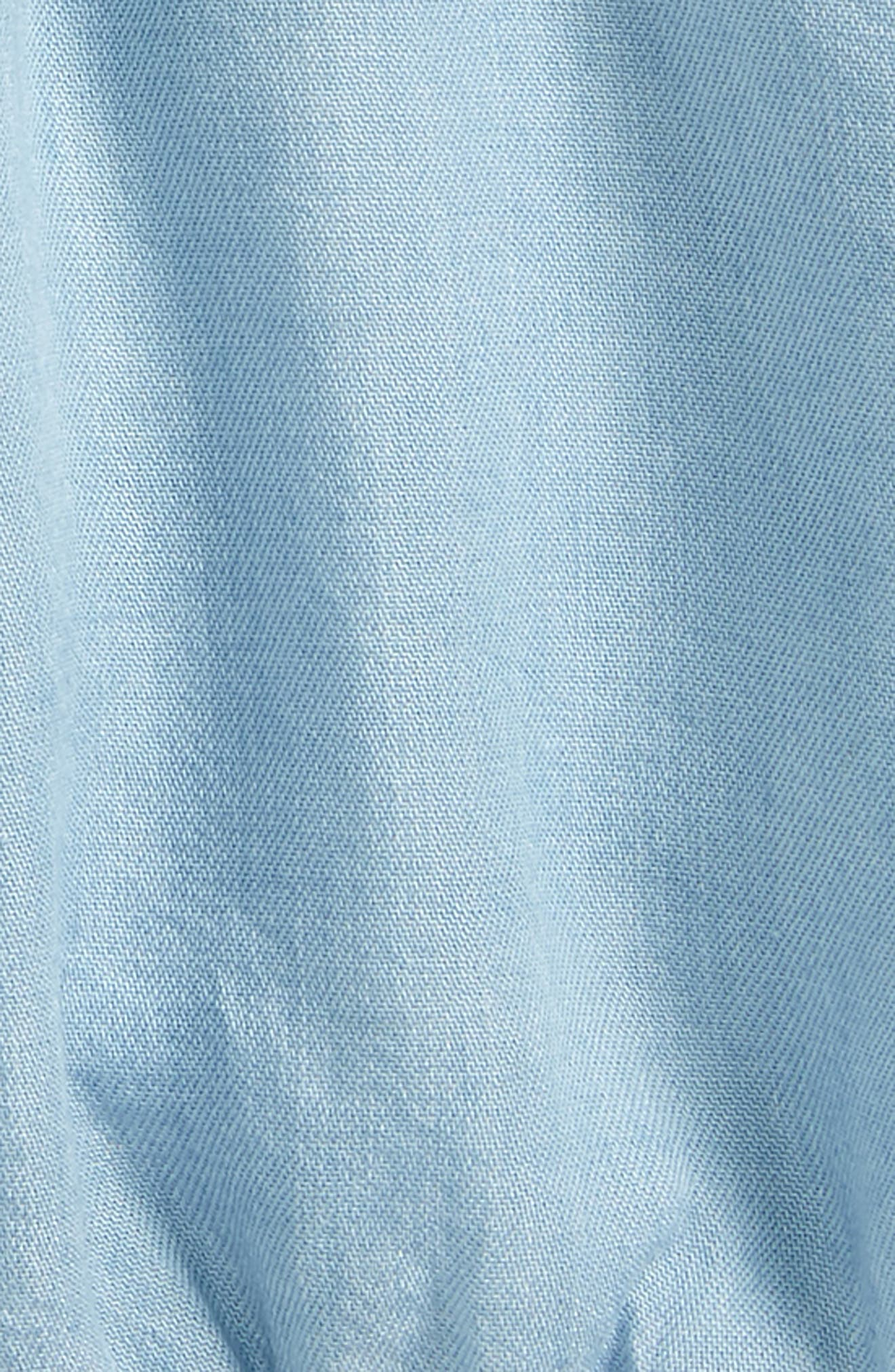 Essential Shorts,                             Alternate thumbnail 2, color,                             Light Blue Wash