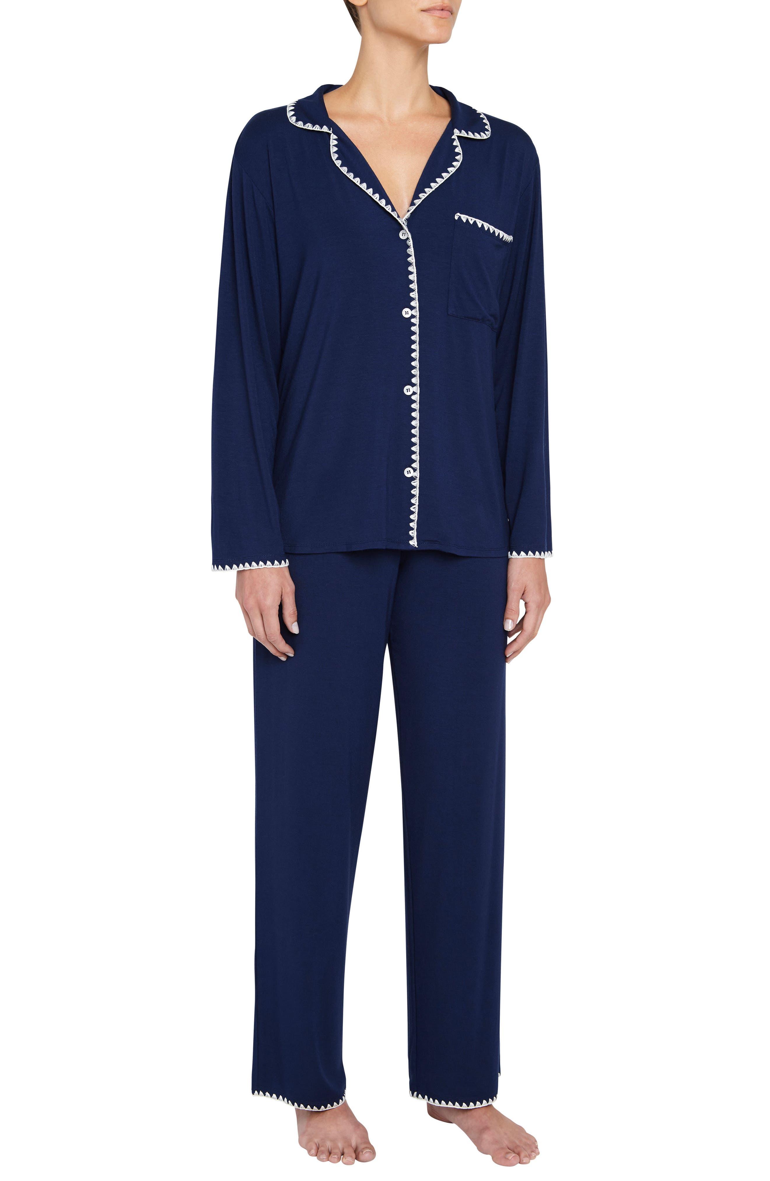 Eberjey Frida the Whipstitch Pajamas
