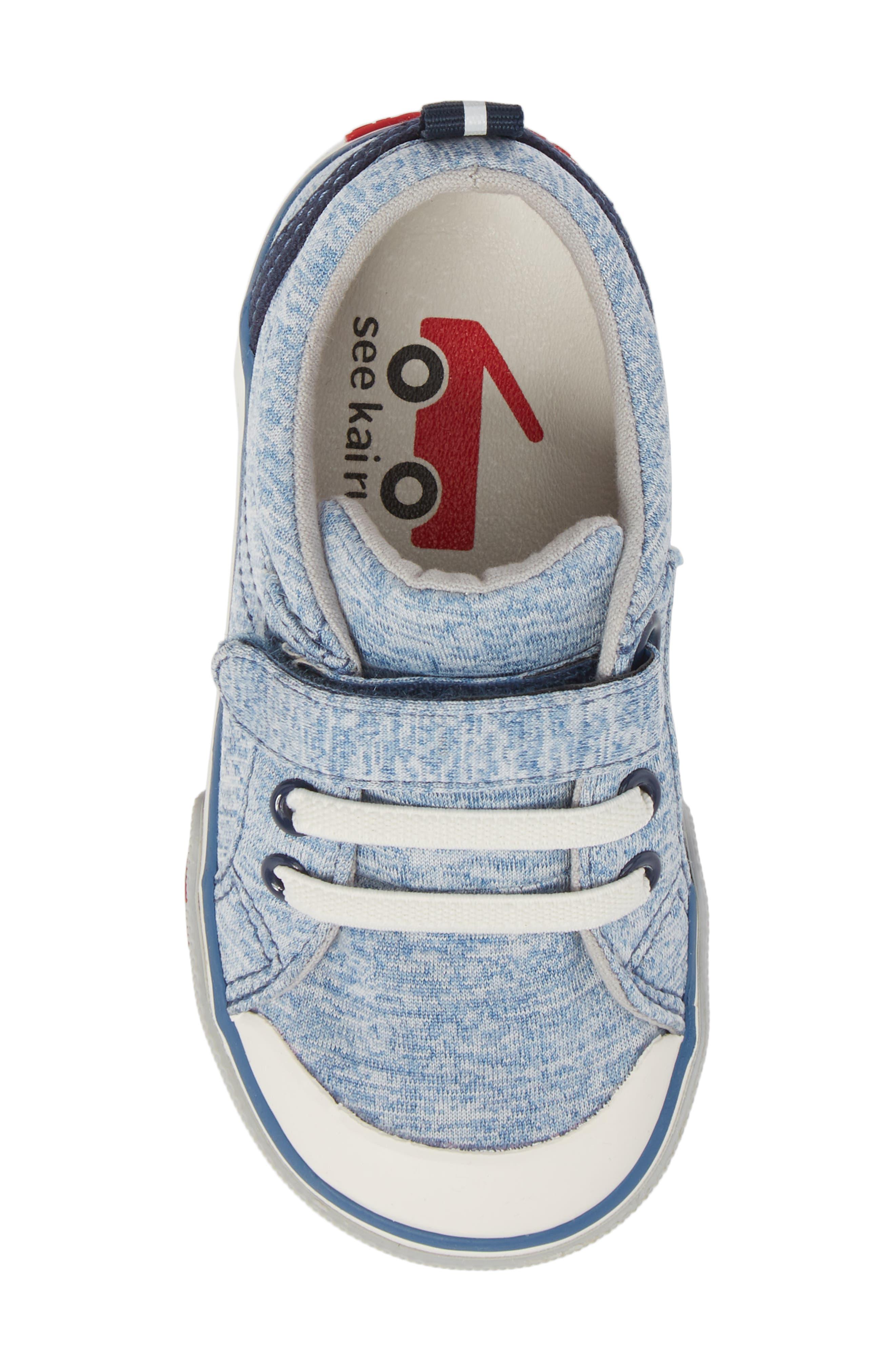 Tanner Sneaker,                             Alternate thumbnail 5, color,                             Blue Jersey
