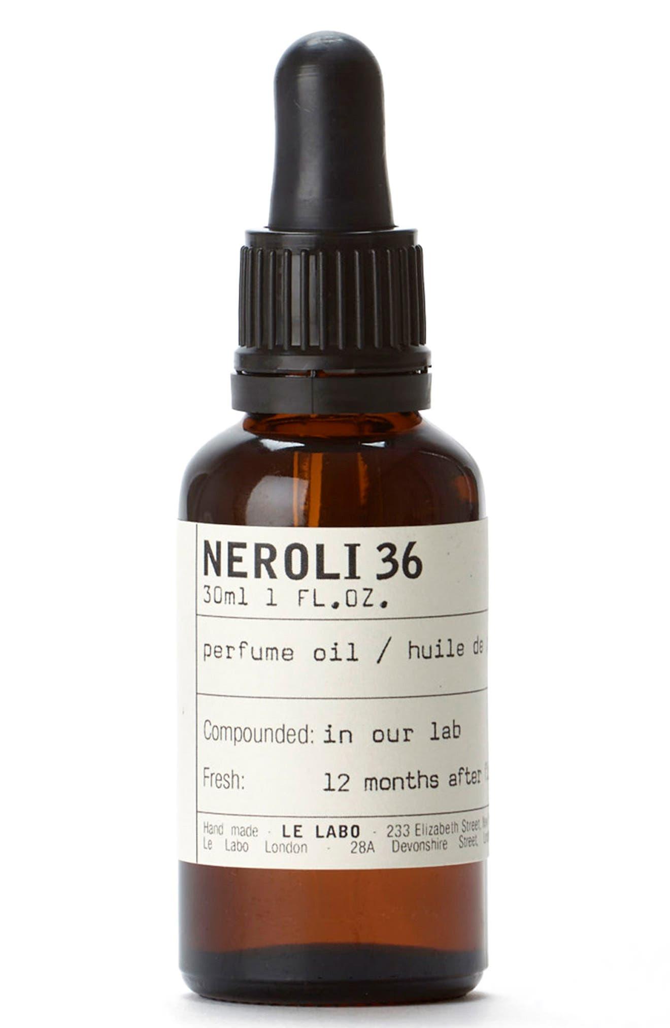 'Neroli 36' Perfume Oil,                         Main,                         color, No Color