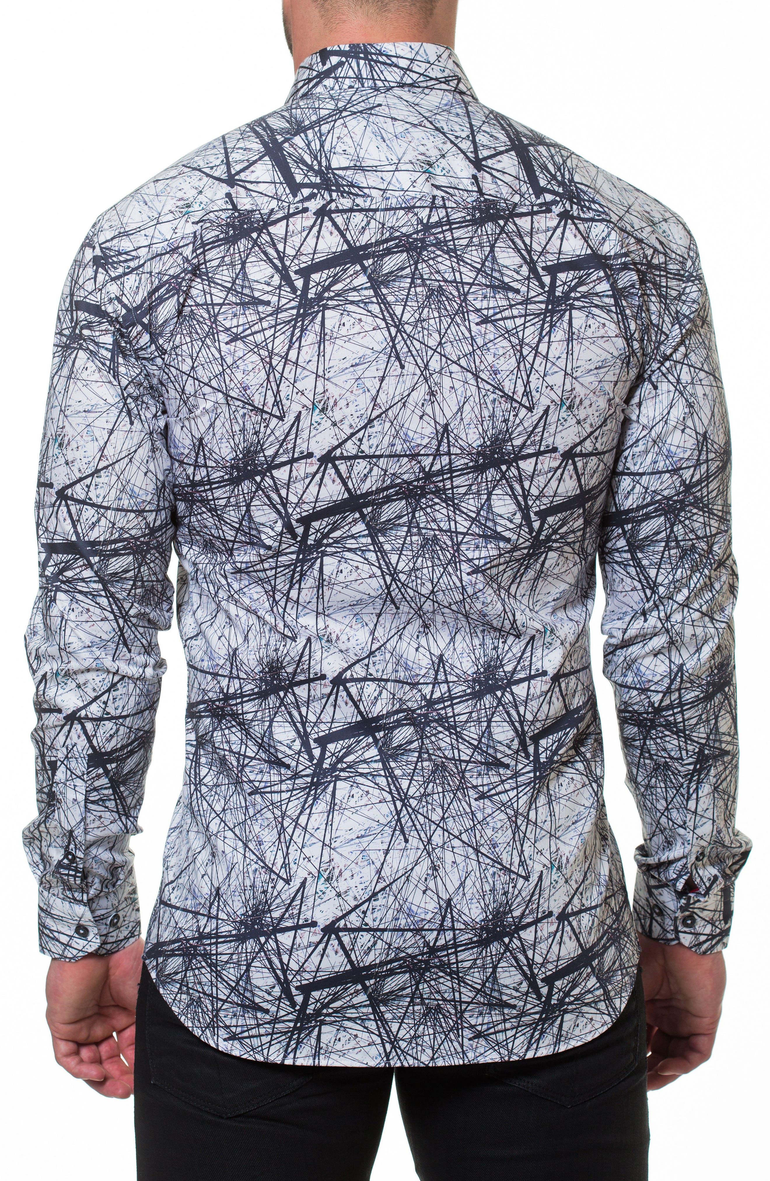 Luxor Nerve Sport Shirt,                             Alternate thumbnail 2, color,                             Grey