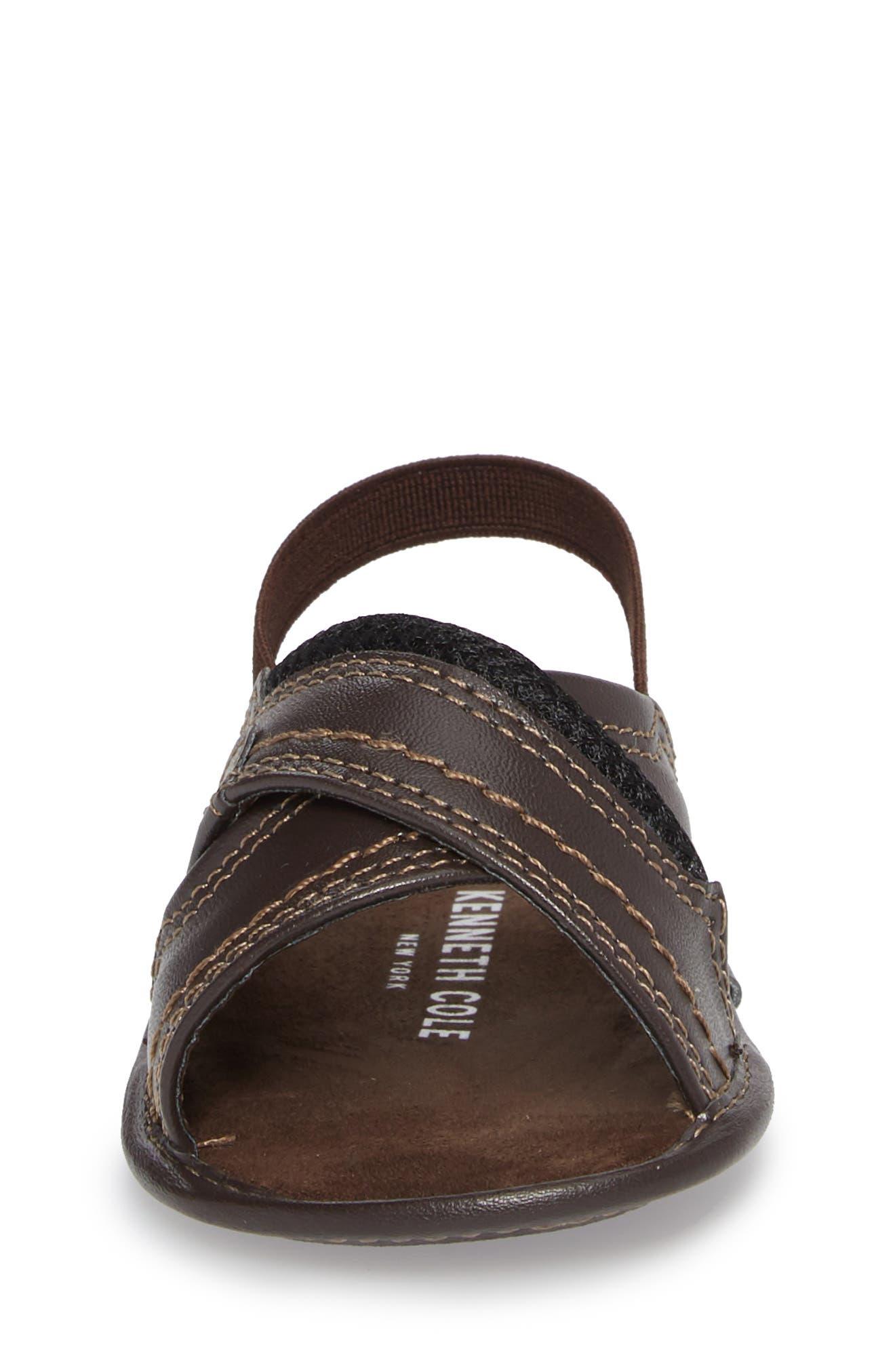 Alternate Image 4  - Kenneth Cole New York Leaf Sandal (Baby)
