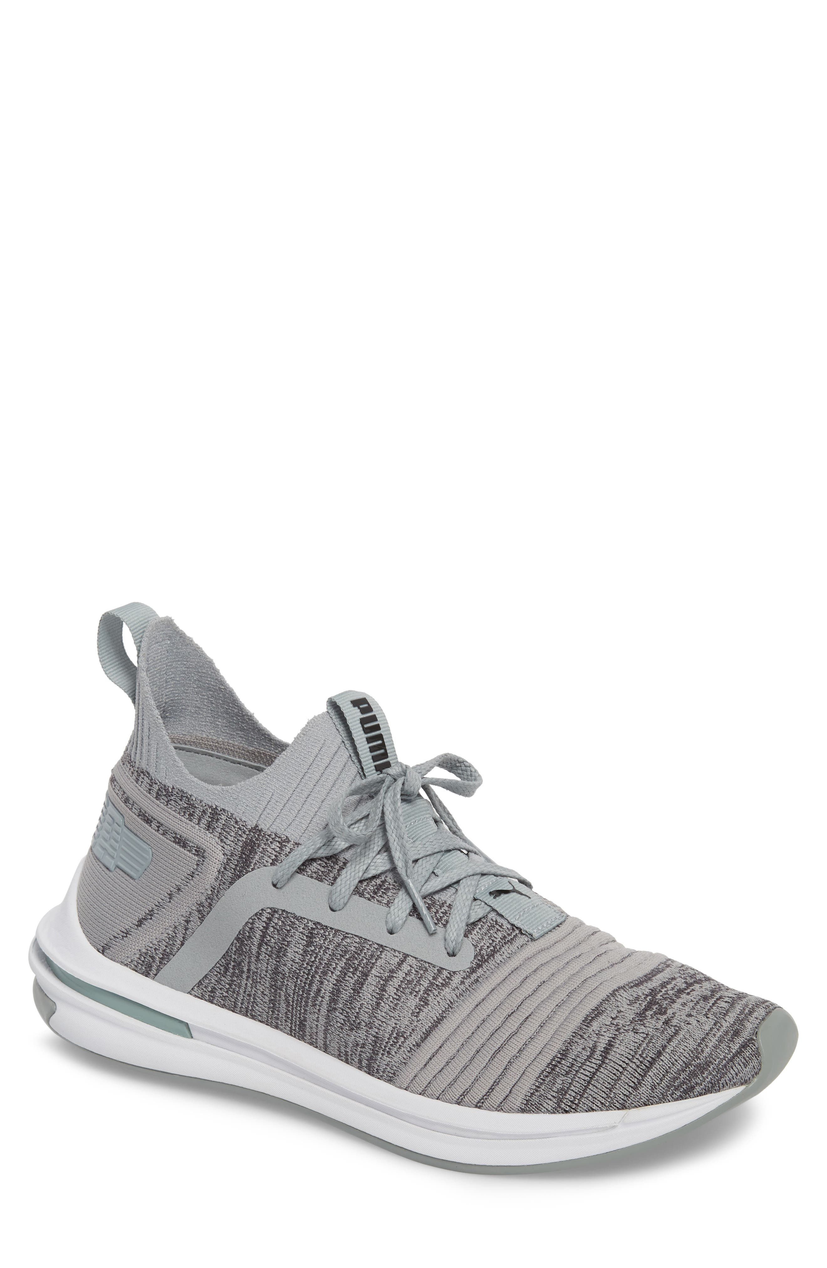 IGNITE Limitless SR evoKNIT Sneaker,                         Main,                         color, Quarry