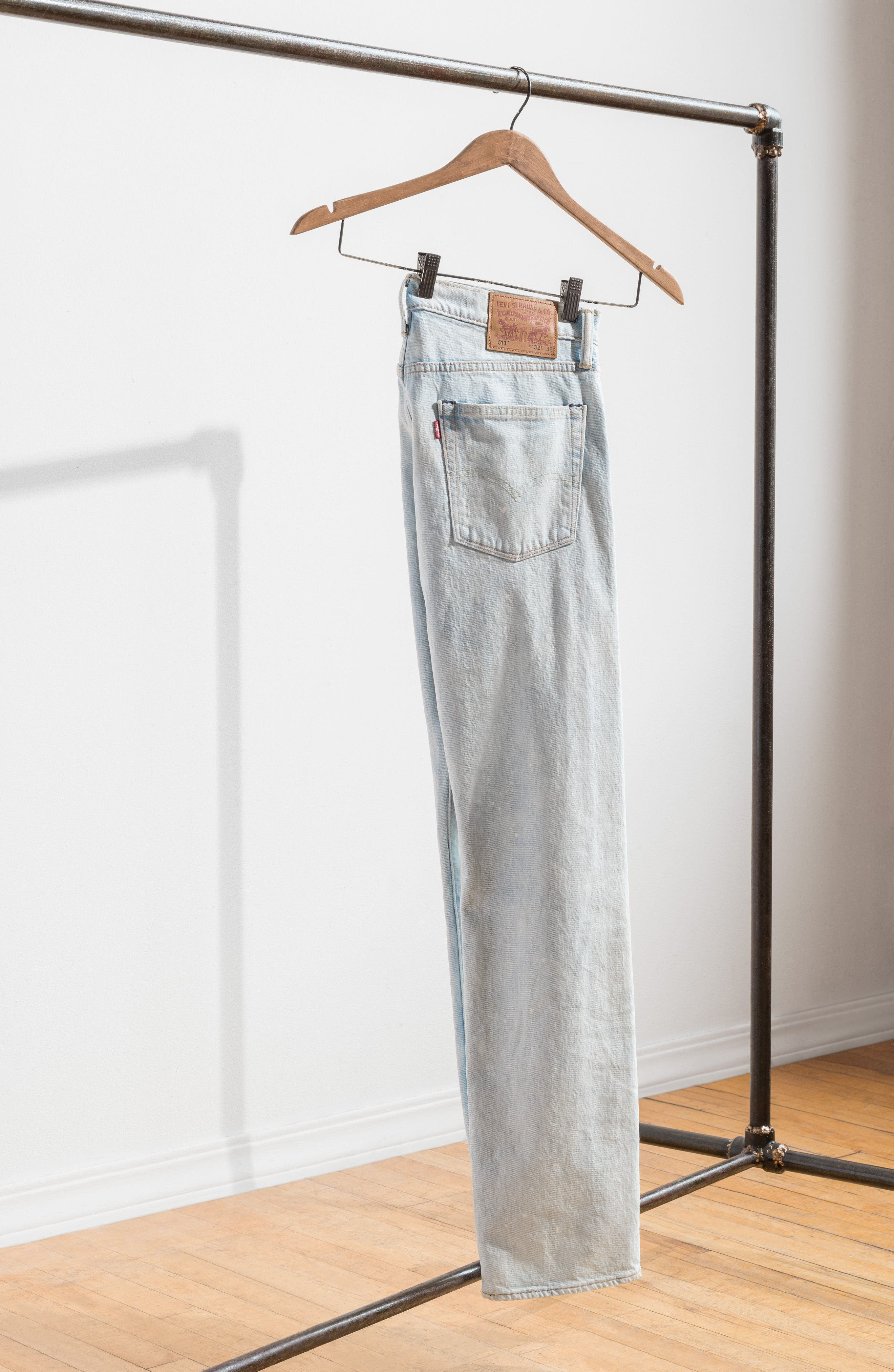 513<sup>™</sup> Slim Straight Leg Jeans,                             Alternate thumbnail 7, color,
