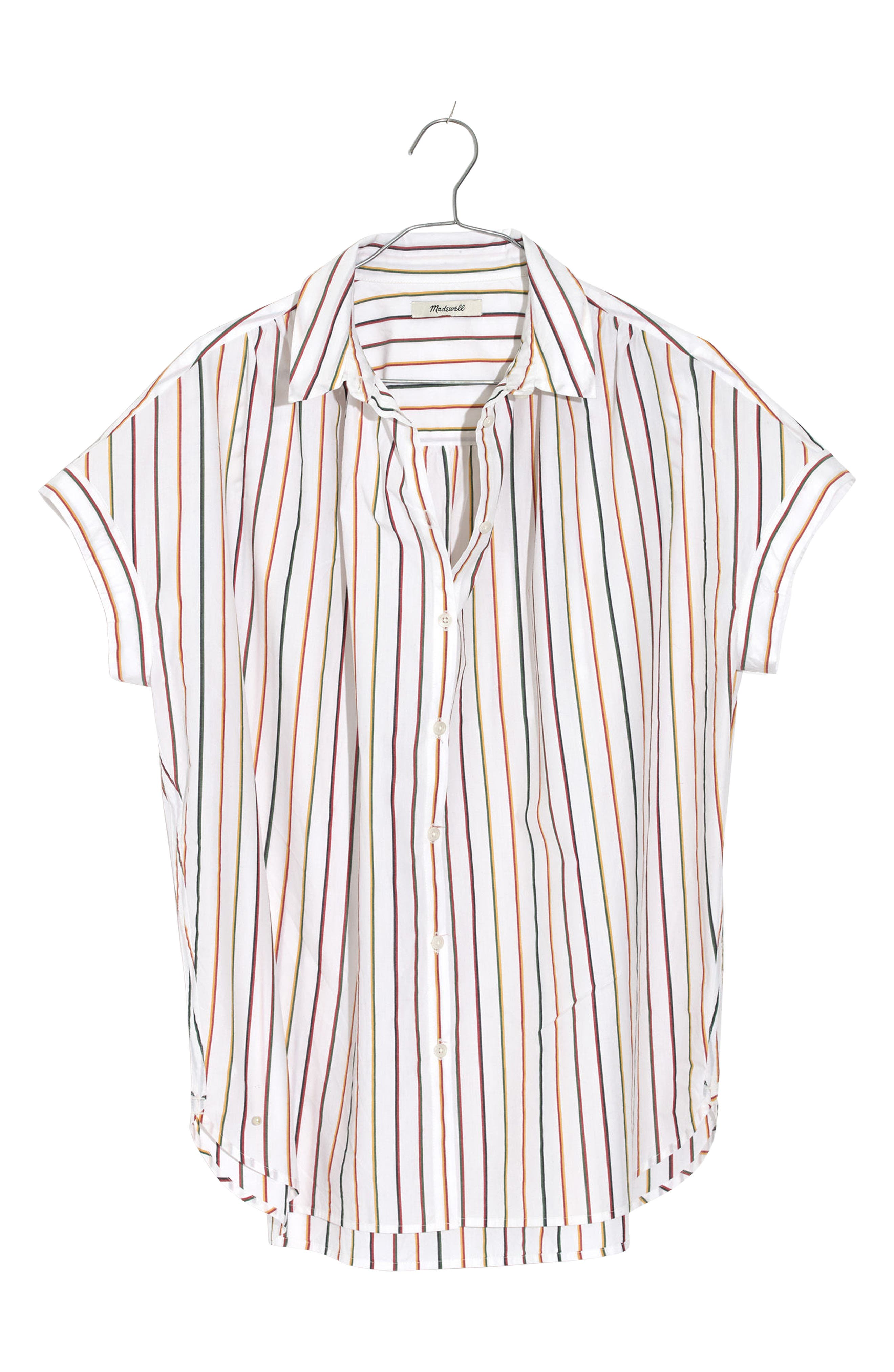 Central Sadie Stripe Shirt,                             Main thumbnail 1, color,                             Multi