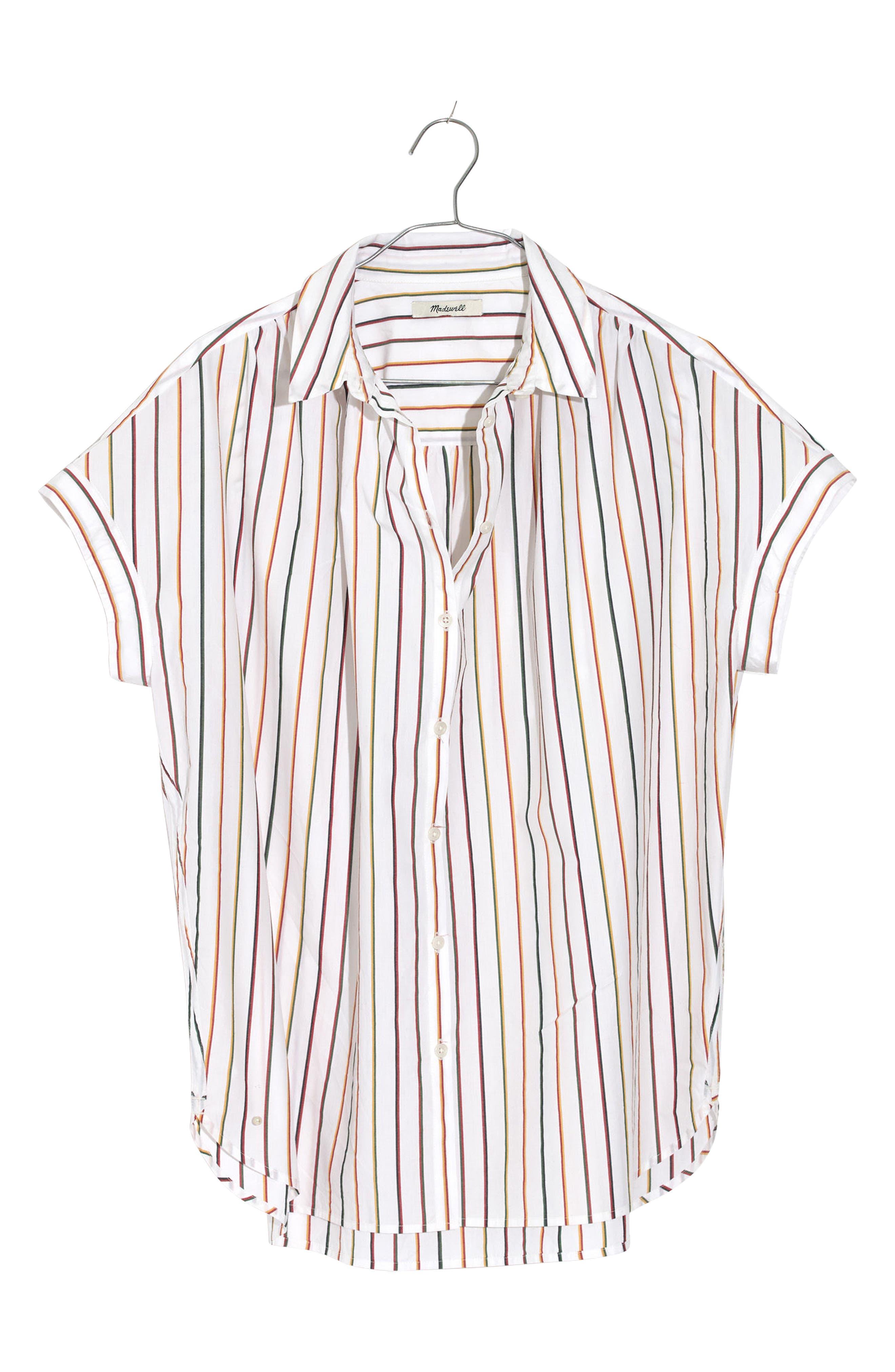 Central Sadie Stripe Shirt,                         Main,                         color, Multi