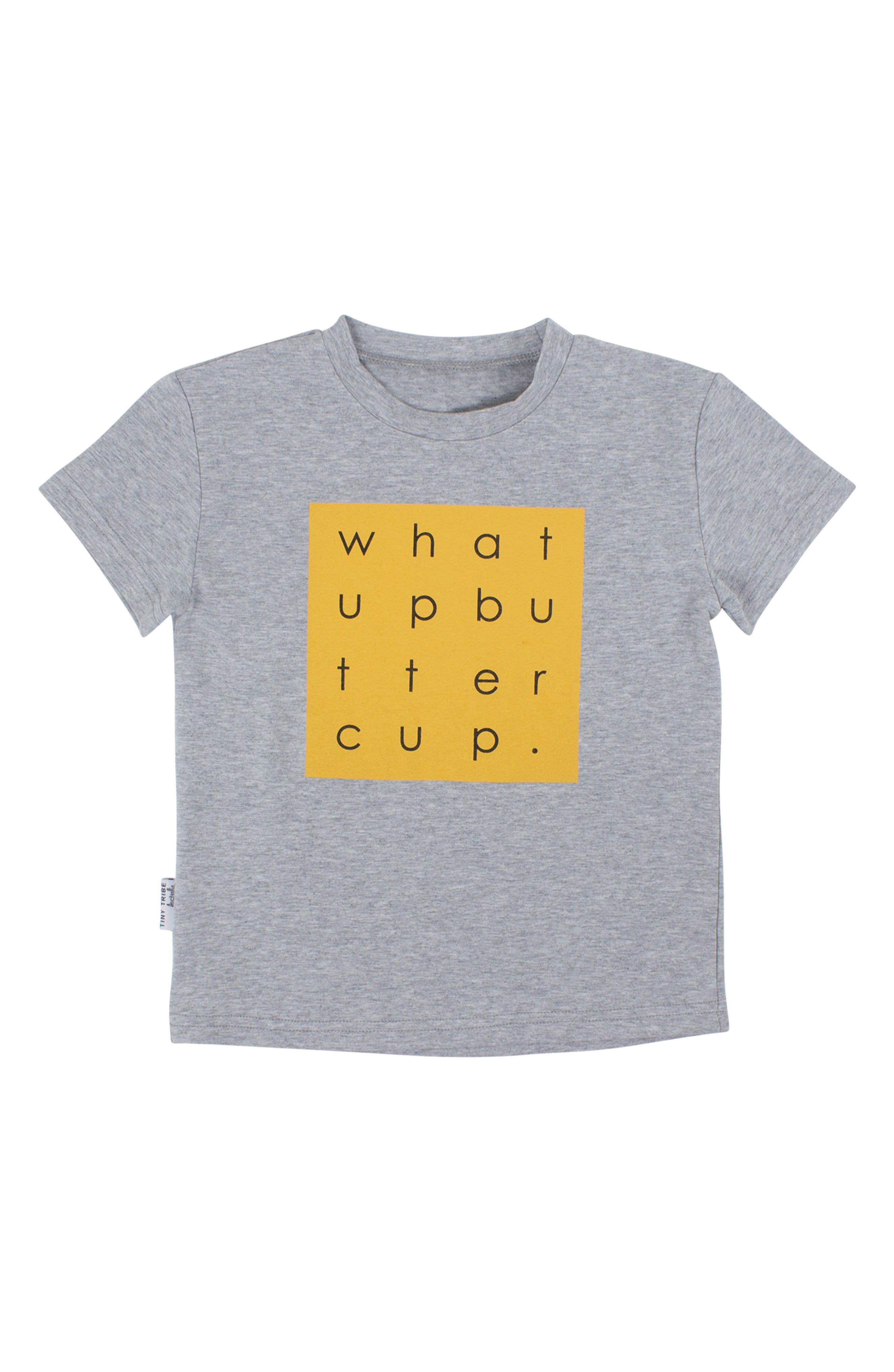 Tiny Tribe What Up Buttercup T-Shirt (Toddler Boys & Little Boys)