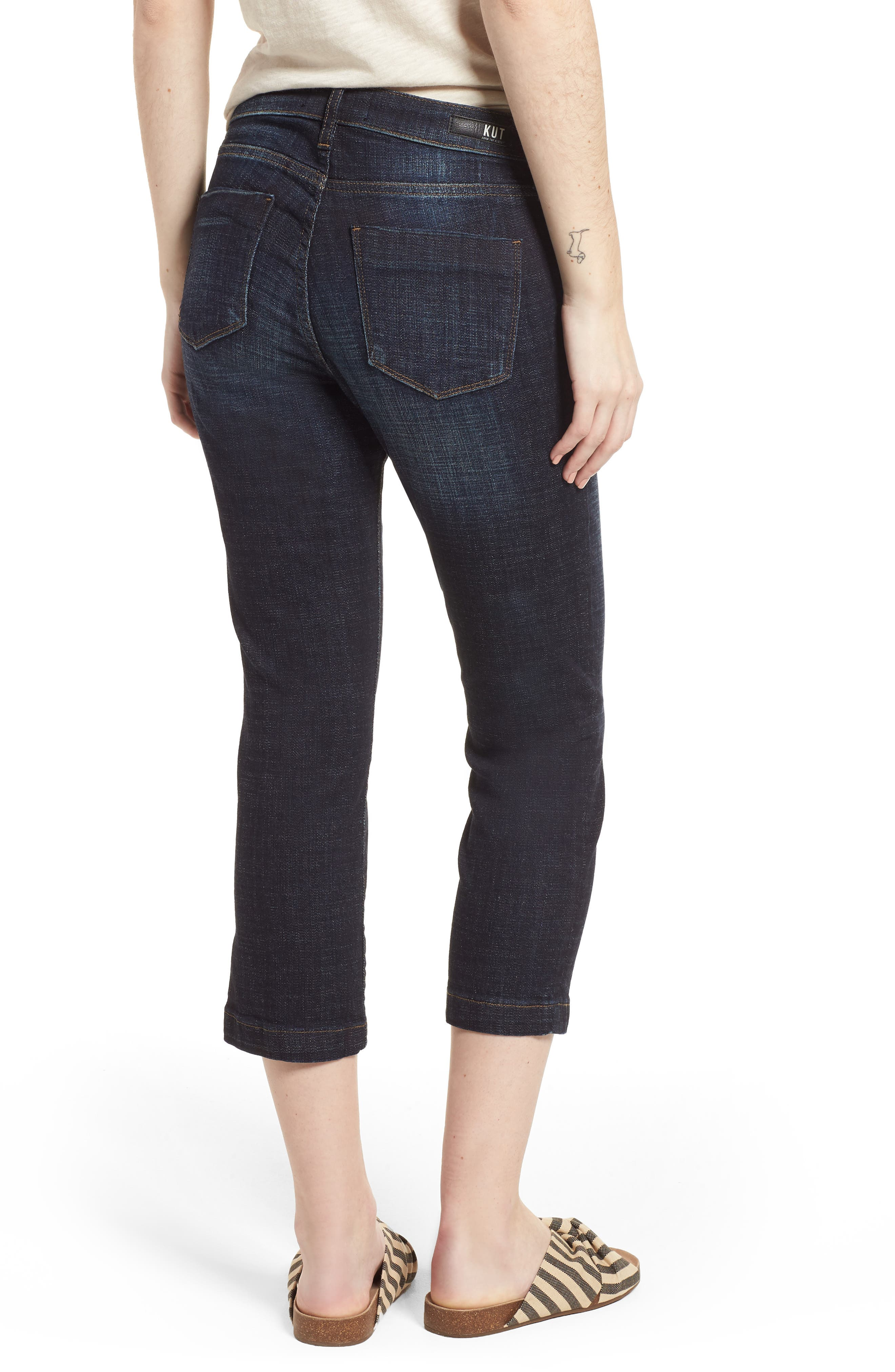 Lauren Crop Jeans,                             Alternate thumbnail 2, color,                             Acknowledging