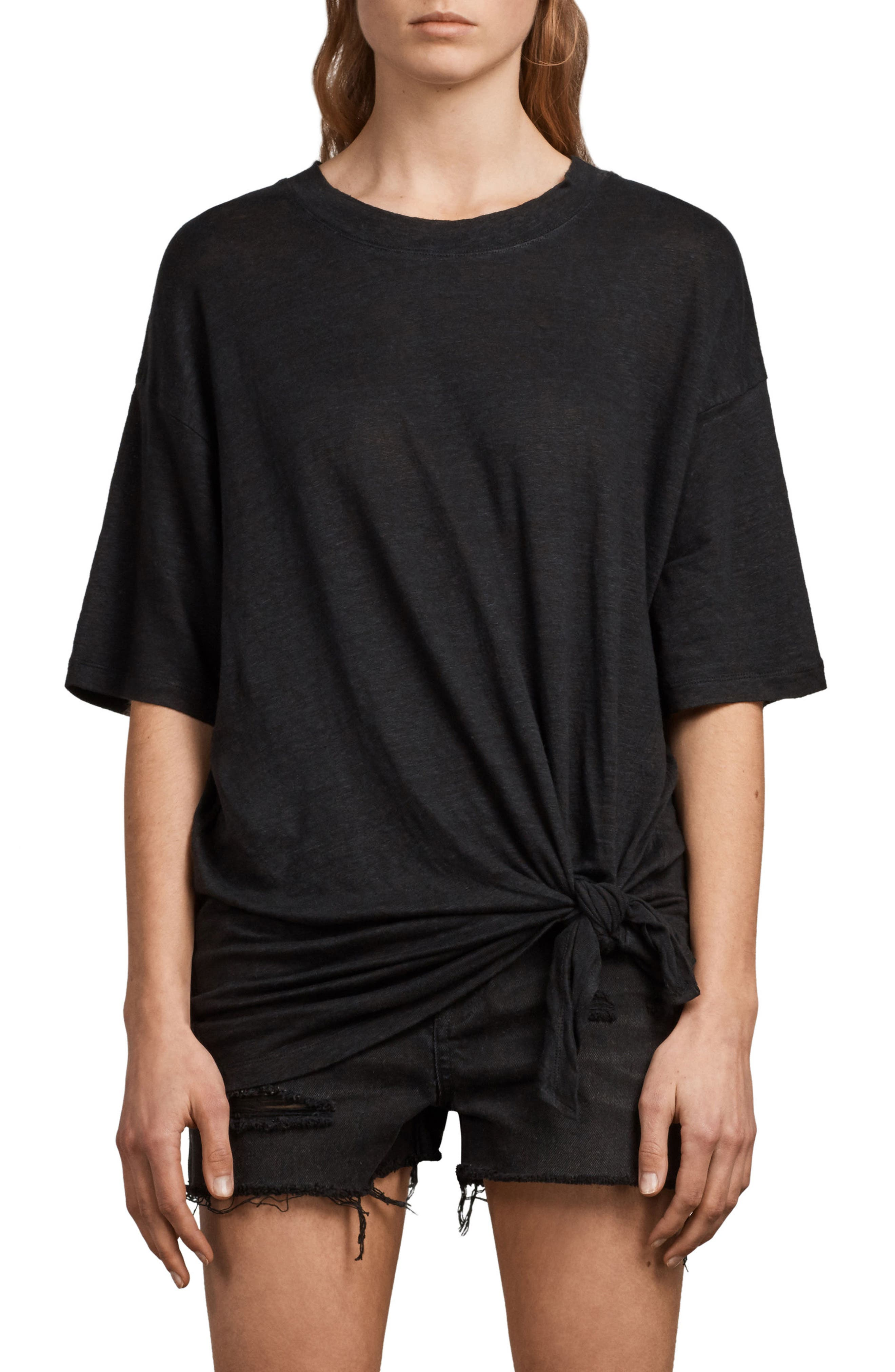 Meli Tee,                         Main,                         color, Black