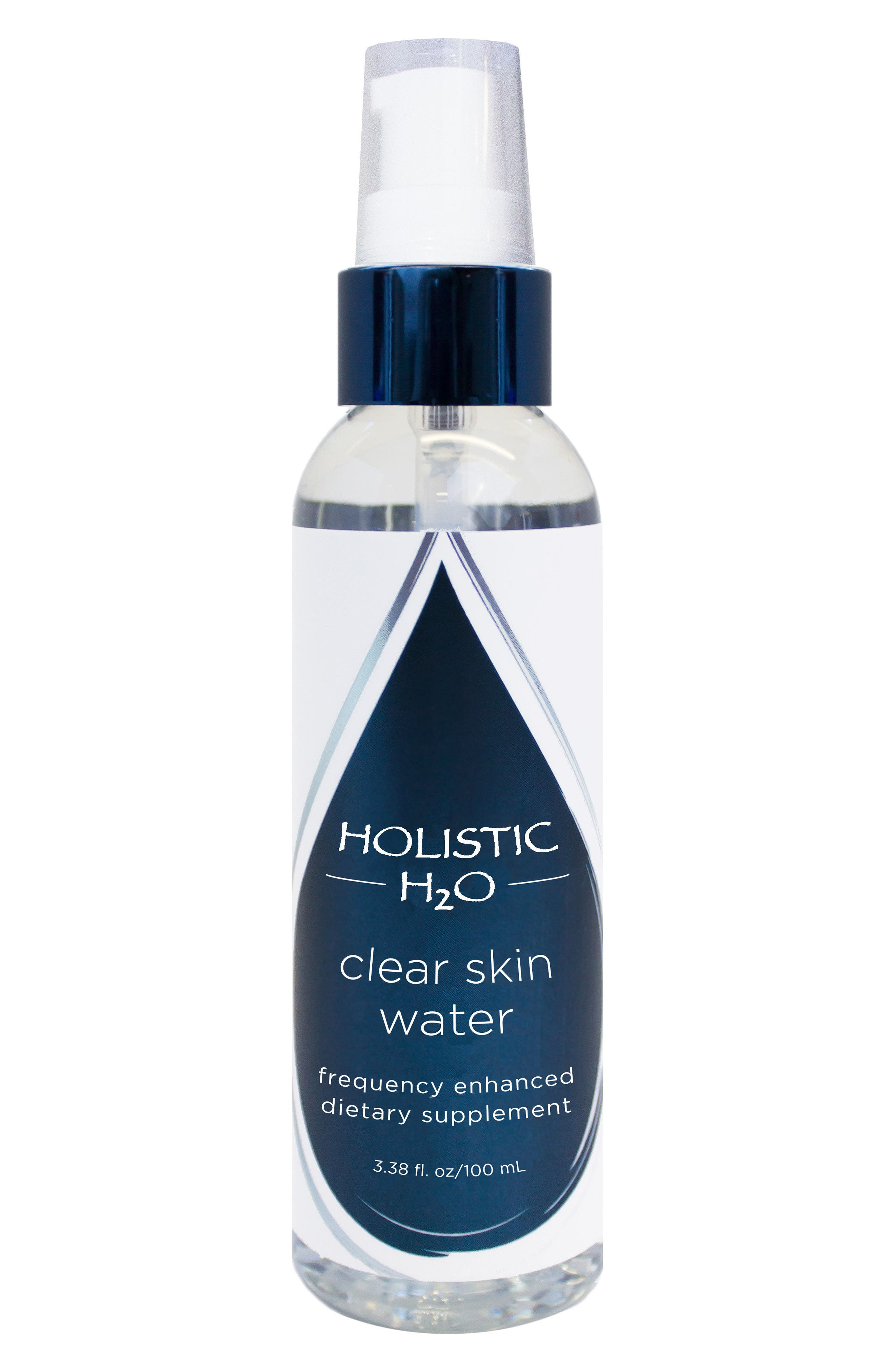 Clear Skin Water Frequency Enhanced Dietary Supplement,                         Main,                         color, No Color