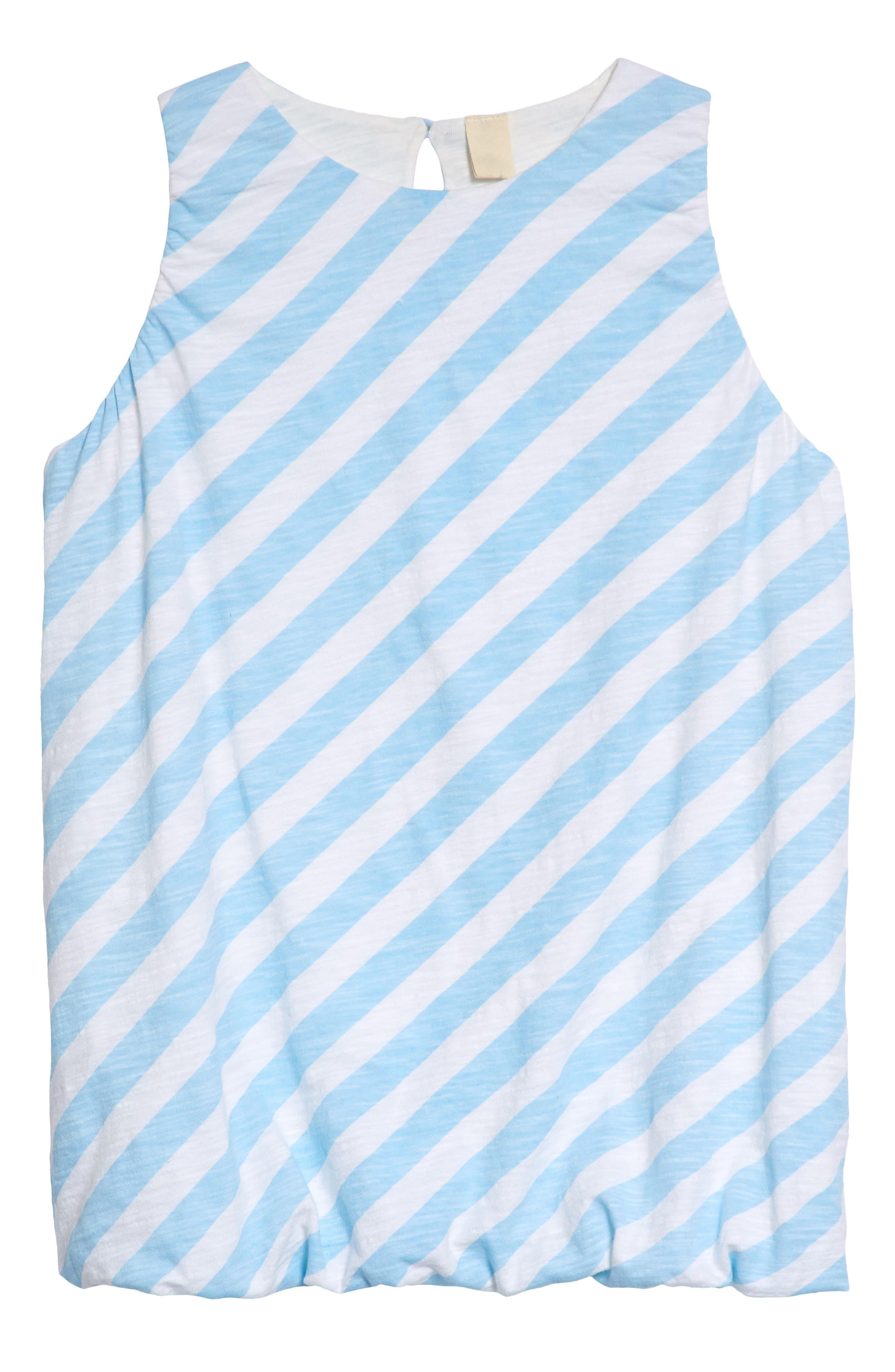 Stem Cotton Bubble Dress (Toddler Girls, Little Girls & Big Girls)