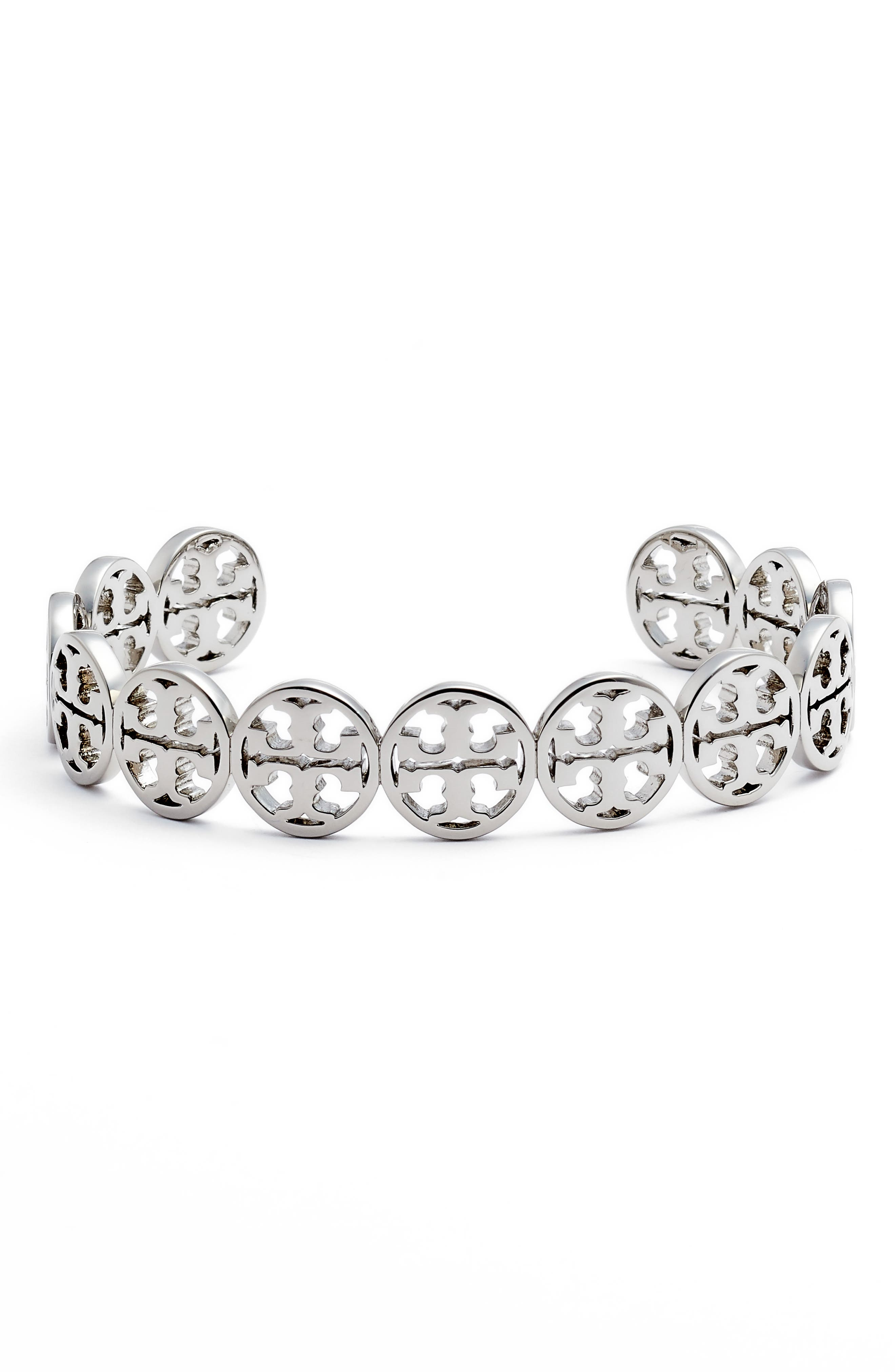 Alternate Image 1 Selected - Tory Burch Logo Cuff
