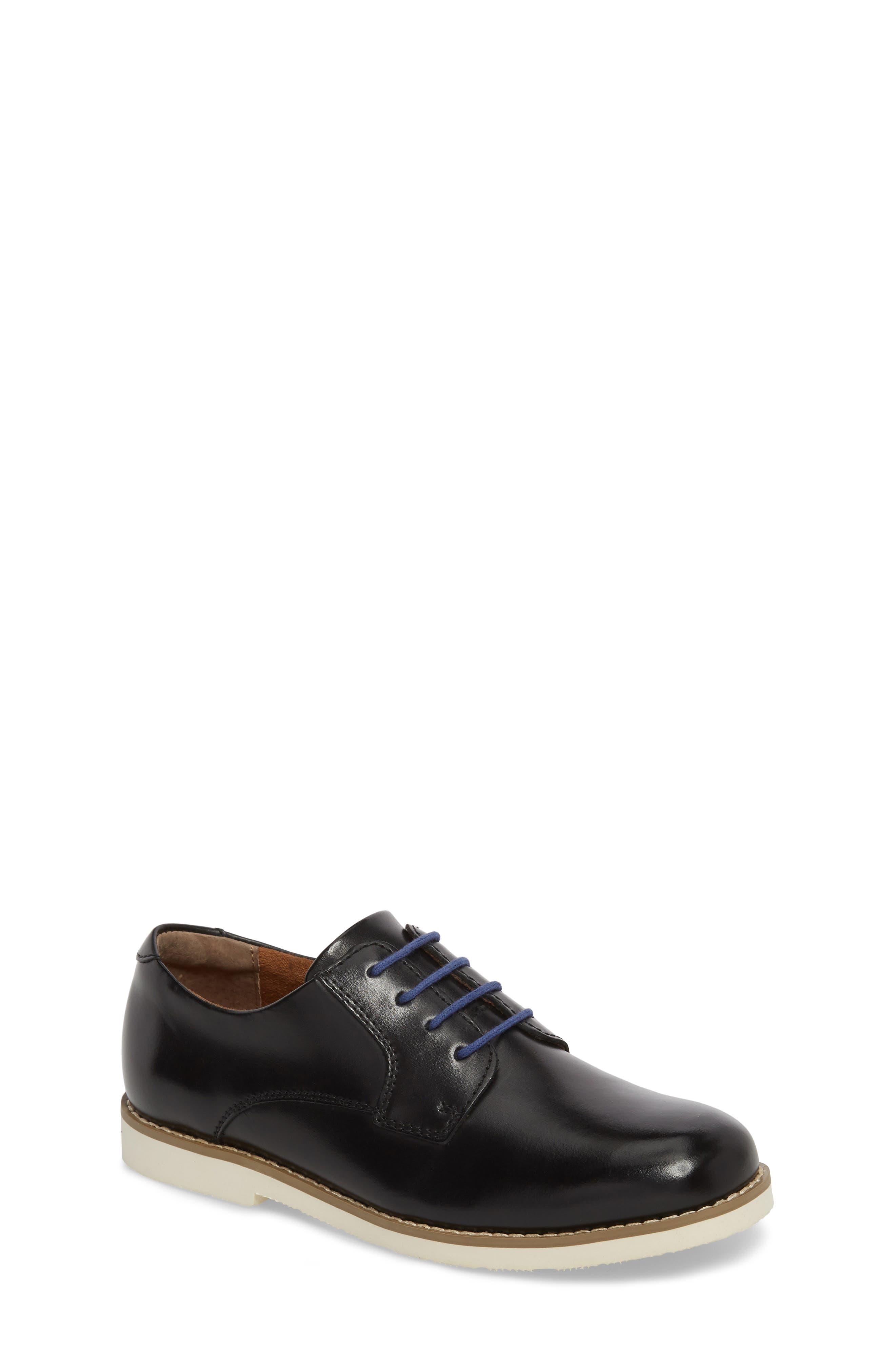 Kearny II Derby,                         Main,                         color, Black Leather