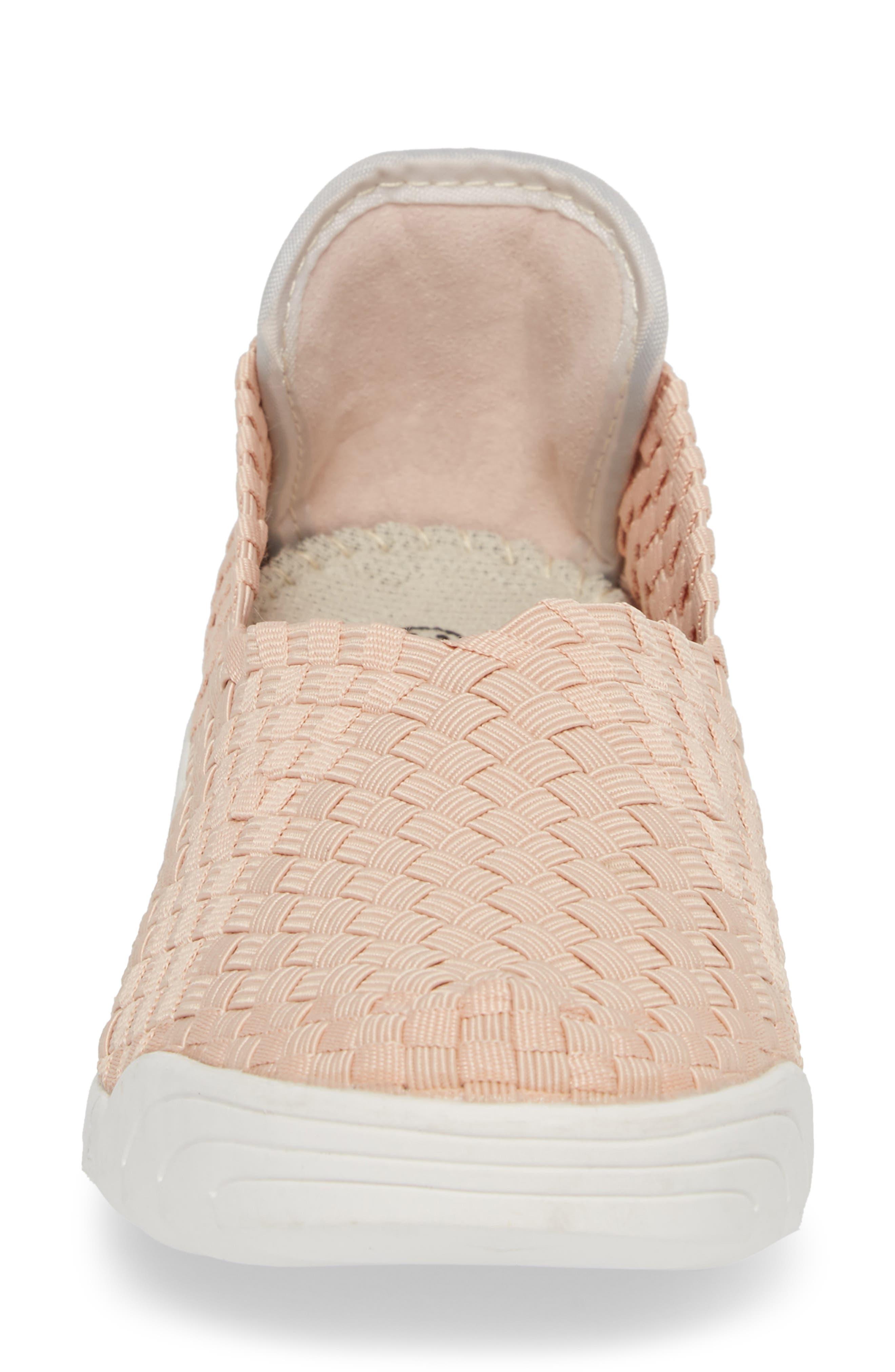 Rigged Fly Slip-On Sneaker,                             Alternate thumbnail 4, color,                             Blush