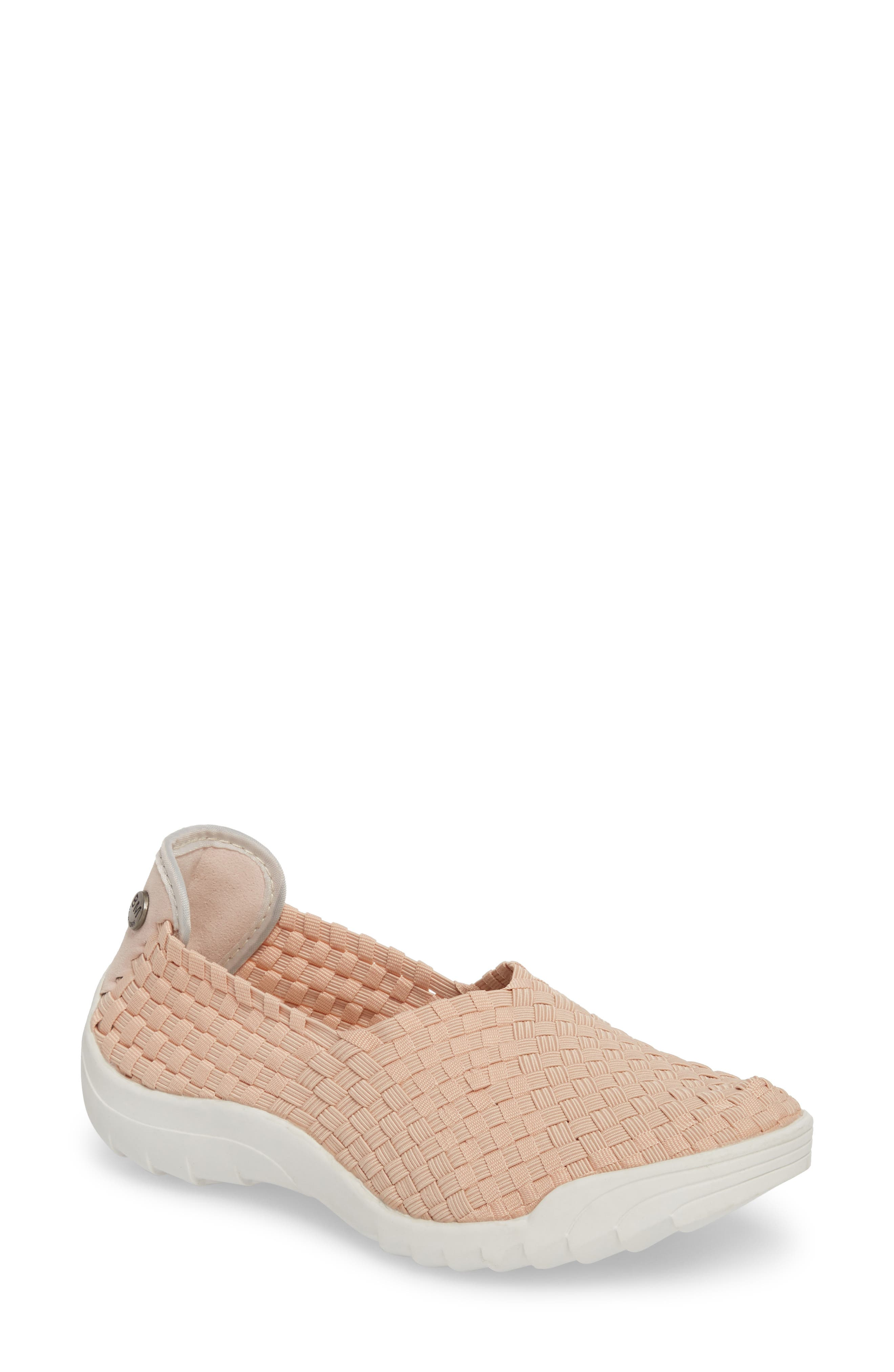 Rigged Fly Slip-On Sneaker,                             Main thumbnail 1, color,                             Blush