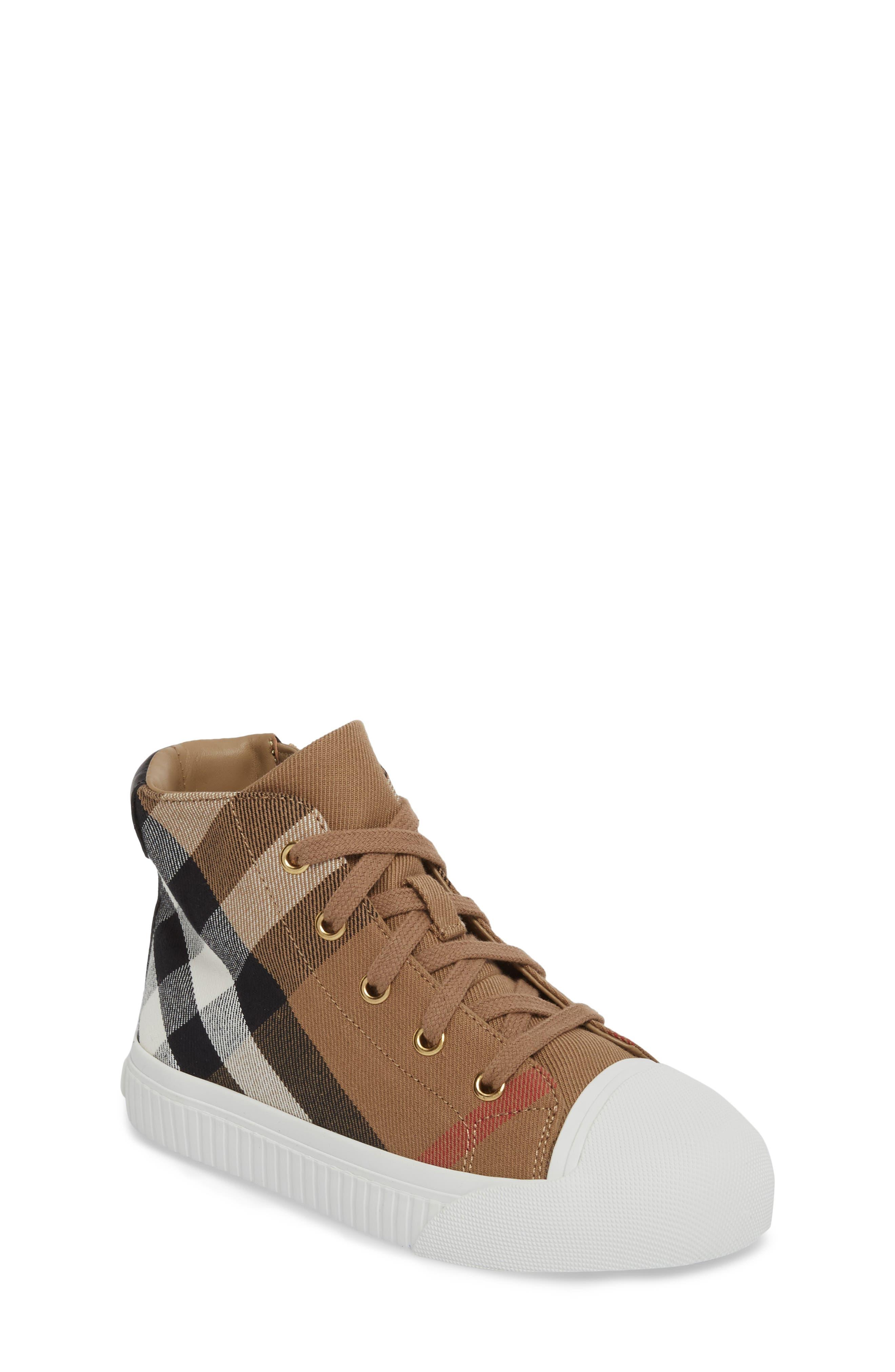 Belford High Top Sneaker,                             Main thumbnail 1, color,                             Classic/ Neon Green