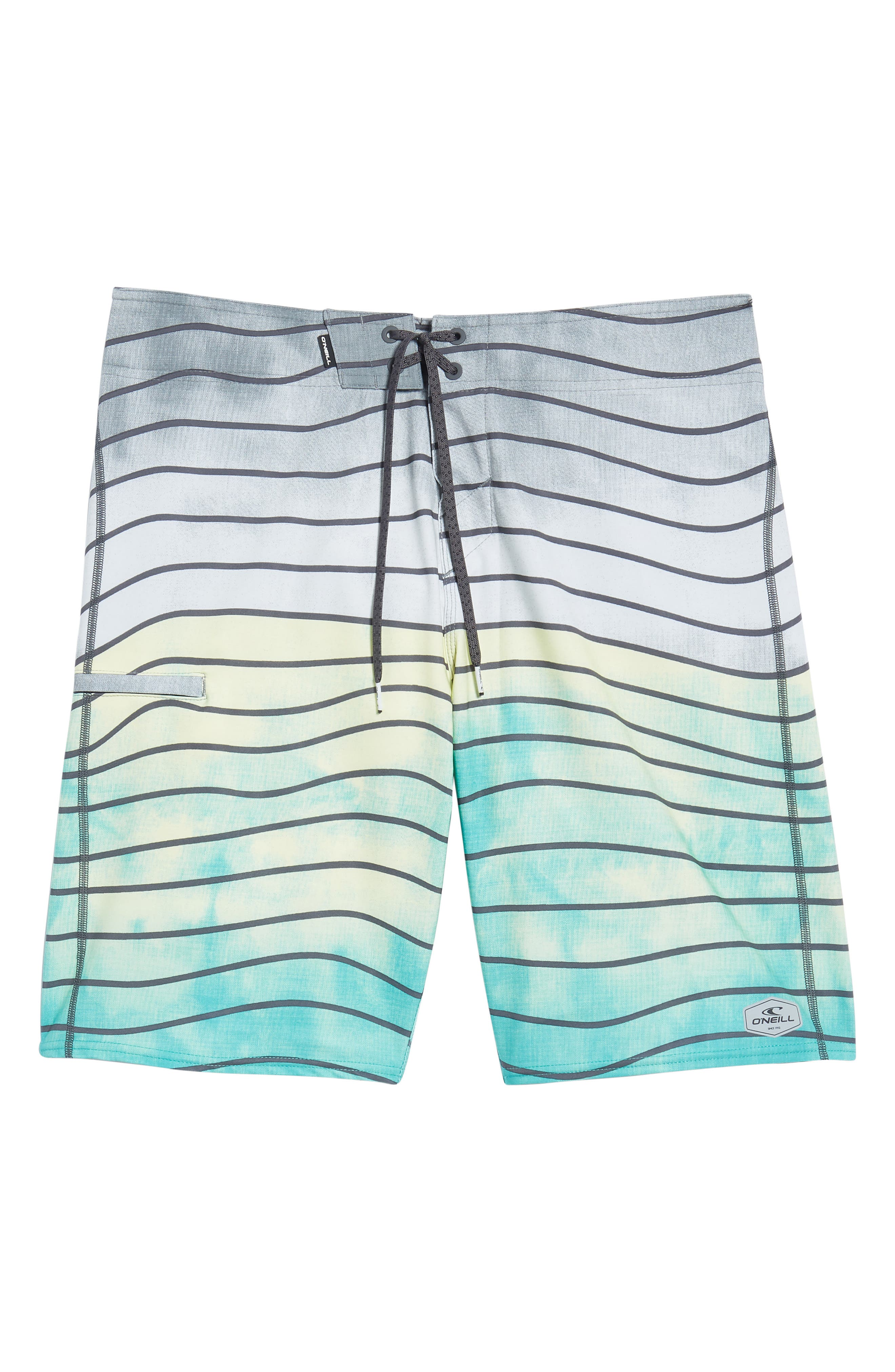 Hyperfreak Swell Board Shorts,                             Alternate thumbnail 6, color,                             Ocean