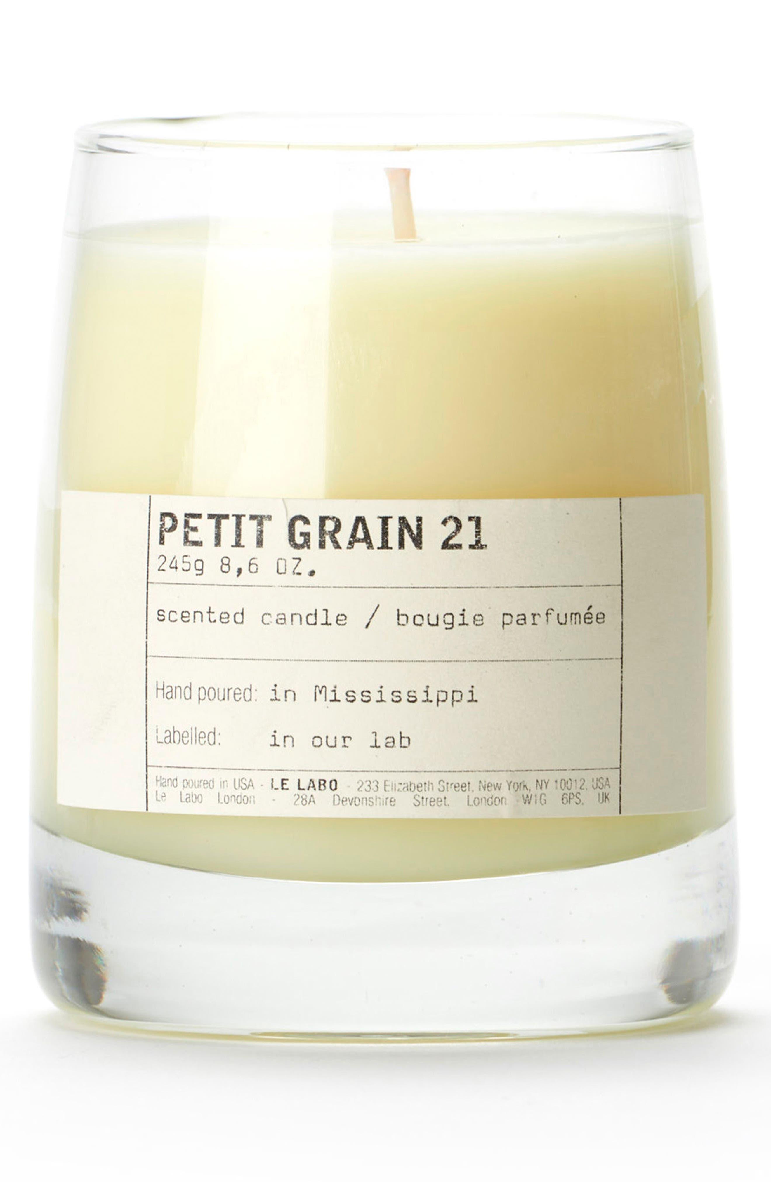 'Petit Grain 21' Classic Candle,                             Main thumbnail 1, color,                             No Color