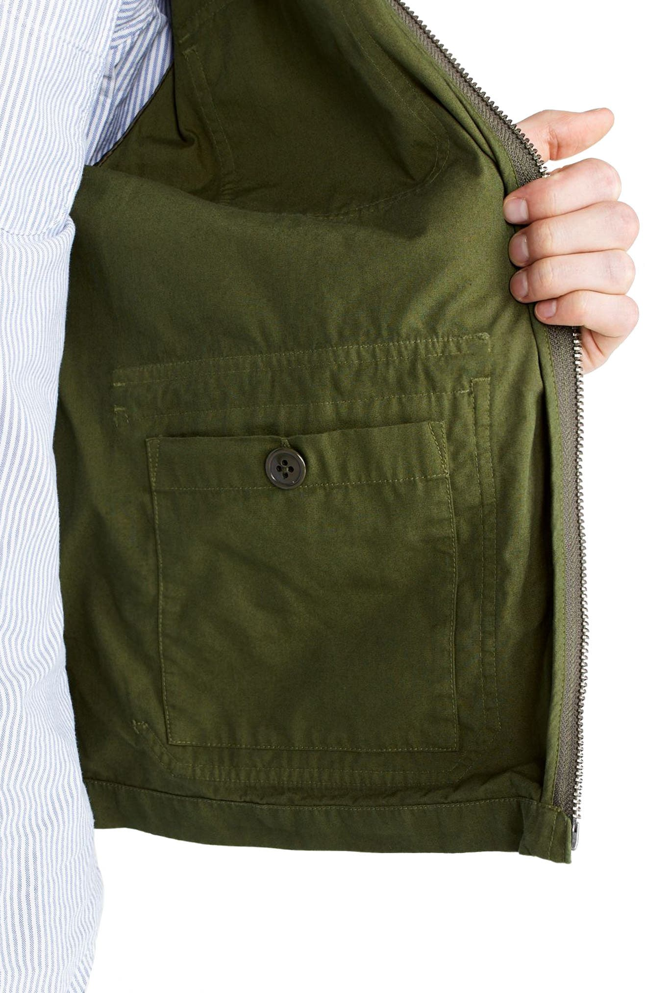 Alternate Image 5  - J.Crew Four-Pocket Utility Jacket