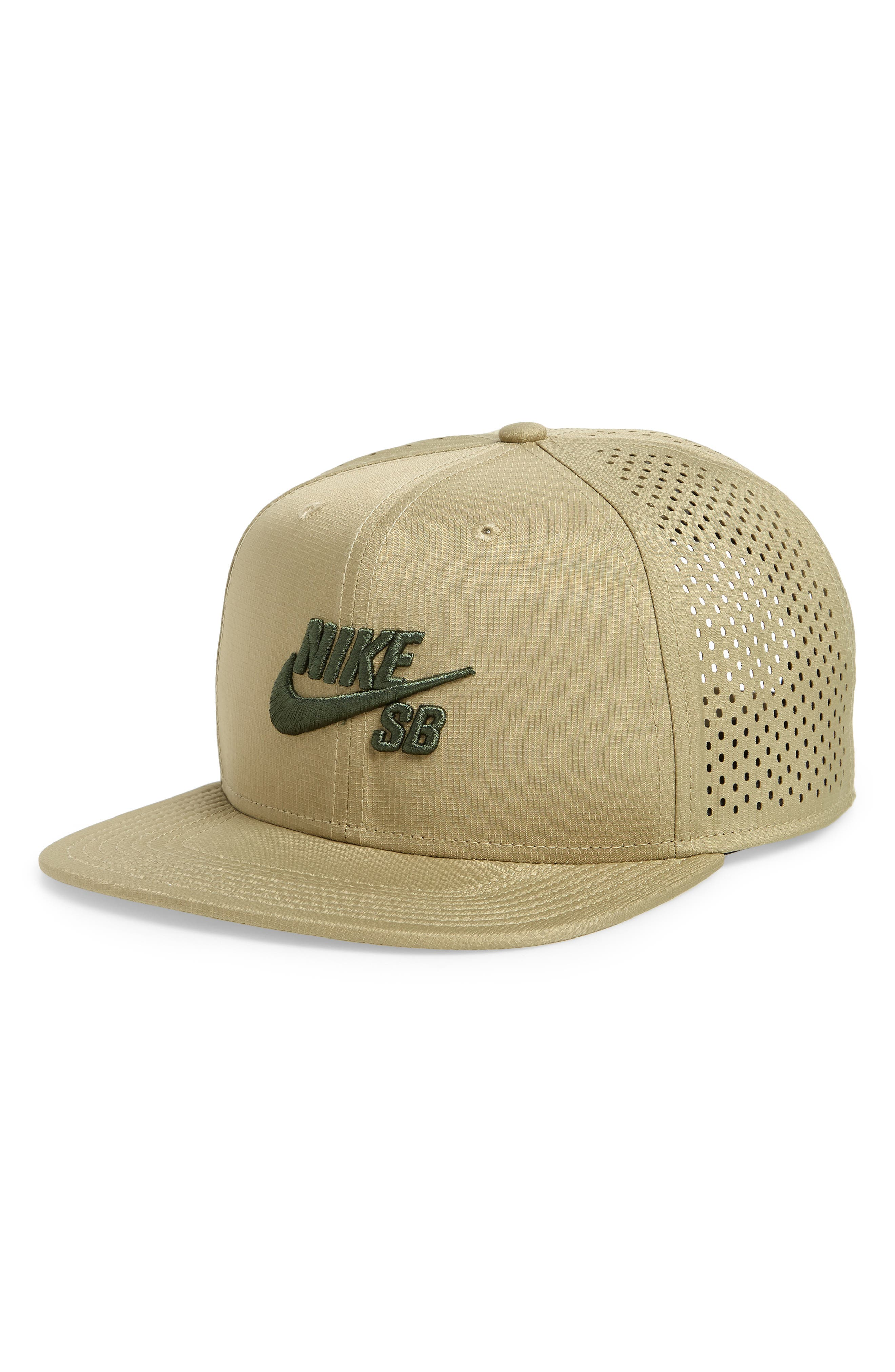 Performance Trucker Hat,                             Main thumbnail 1, color,                             Neutral Olive/ Olive/ Sequoia