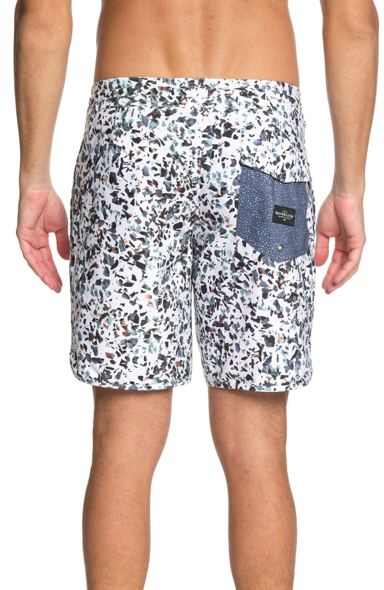 Variable Swim Shorts,                             Alternate thumbnail 2, color,                             White