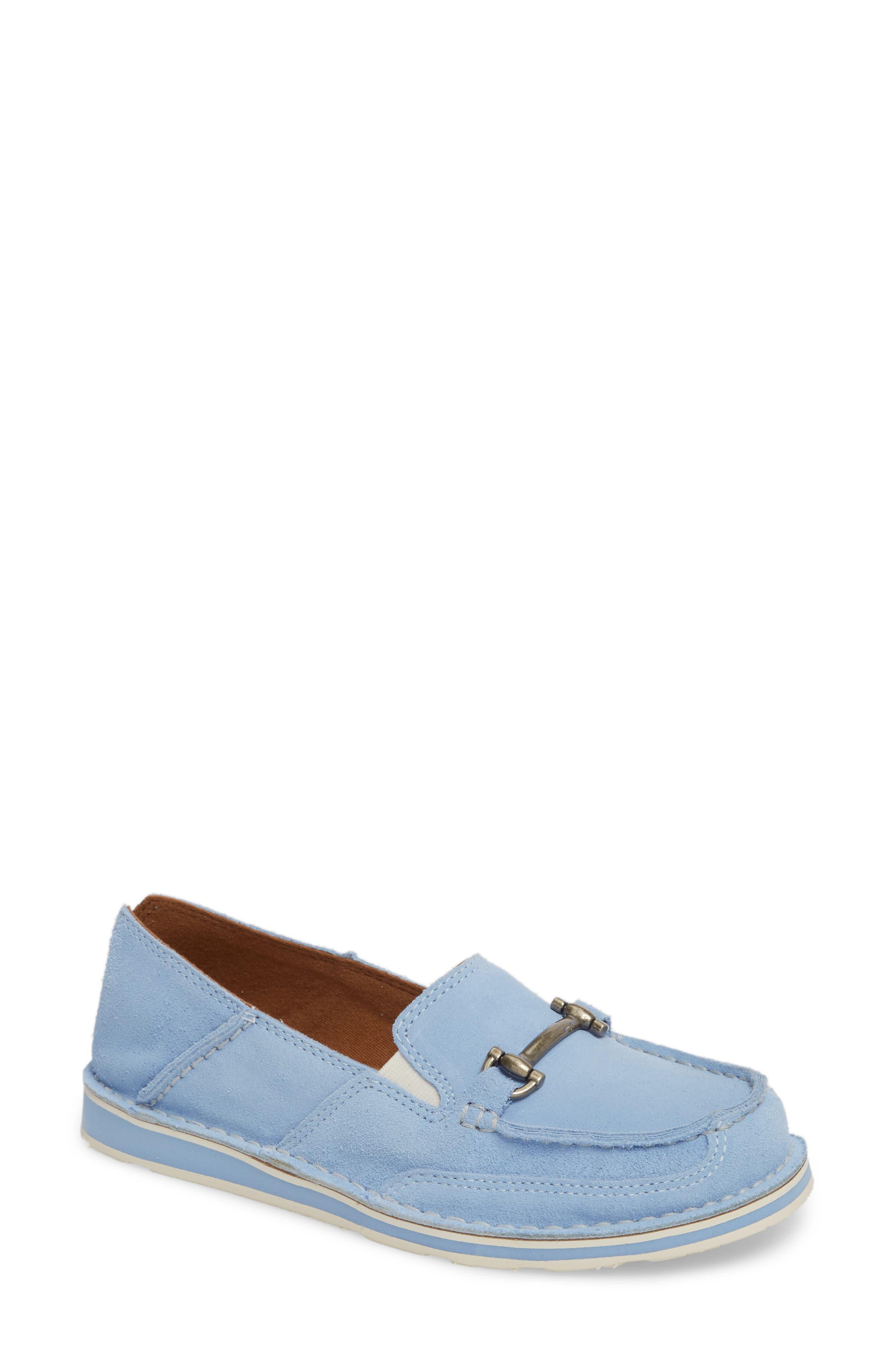 Cruiser Castaway Loafer, Baby Blue Suede