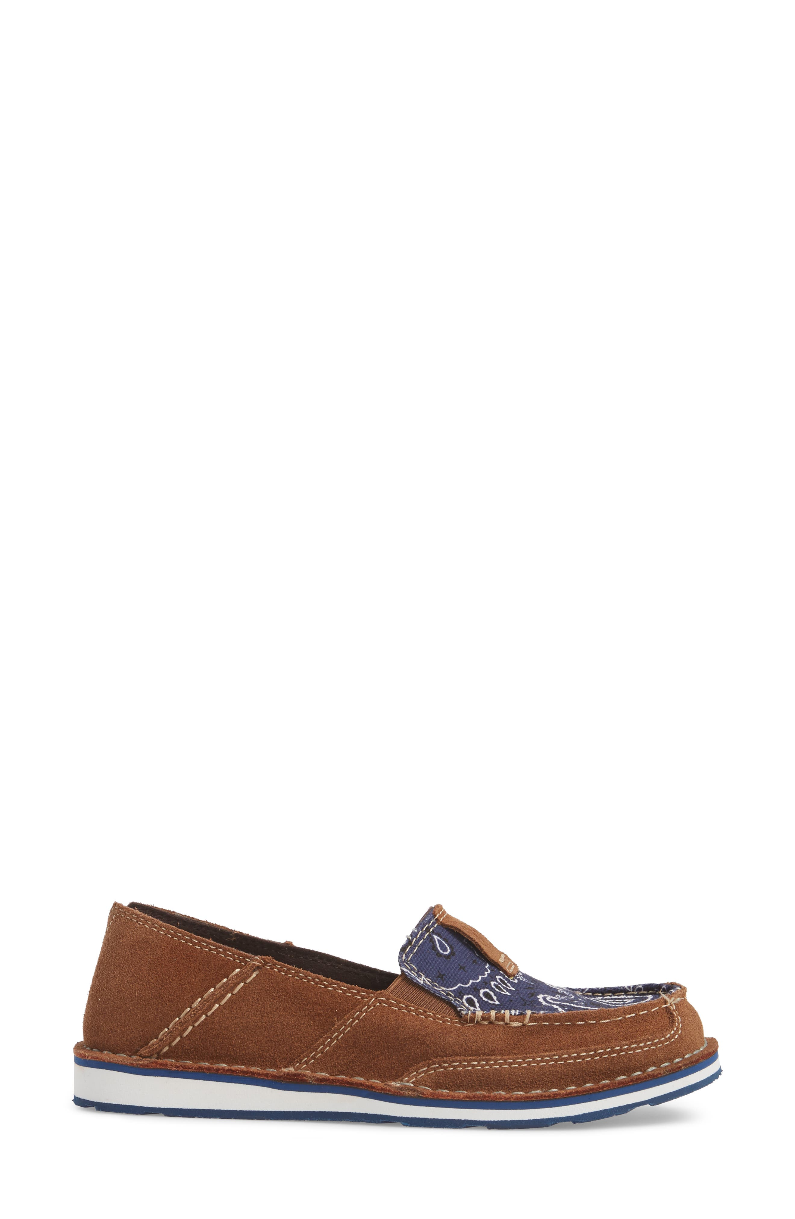 Cruiser Slip-On Loafer,                             Alternate thumbnail 3, color,                             Toffee Leather