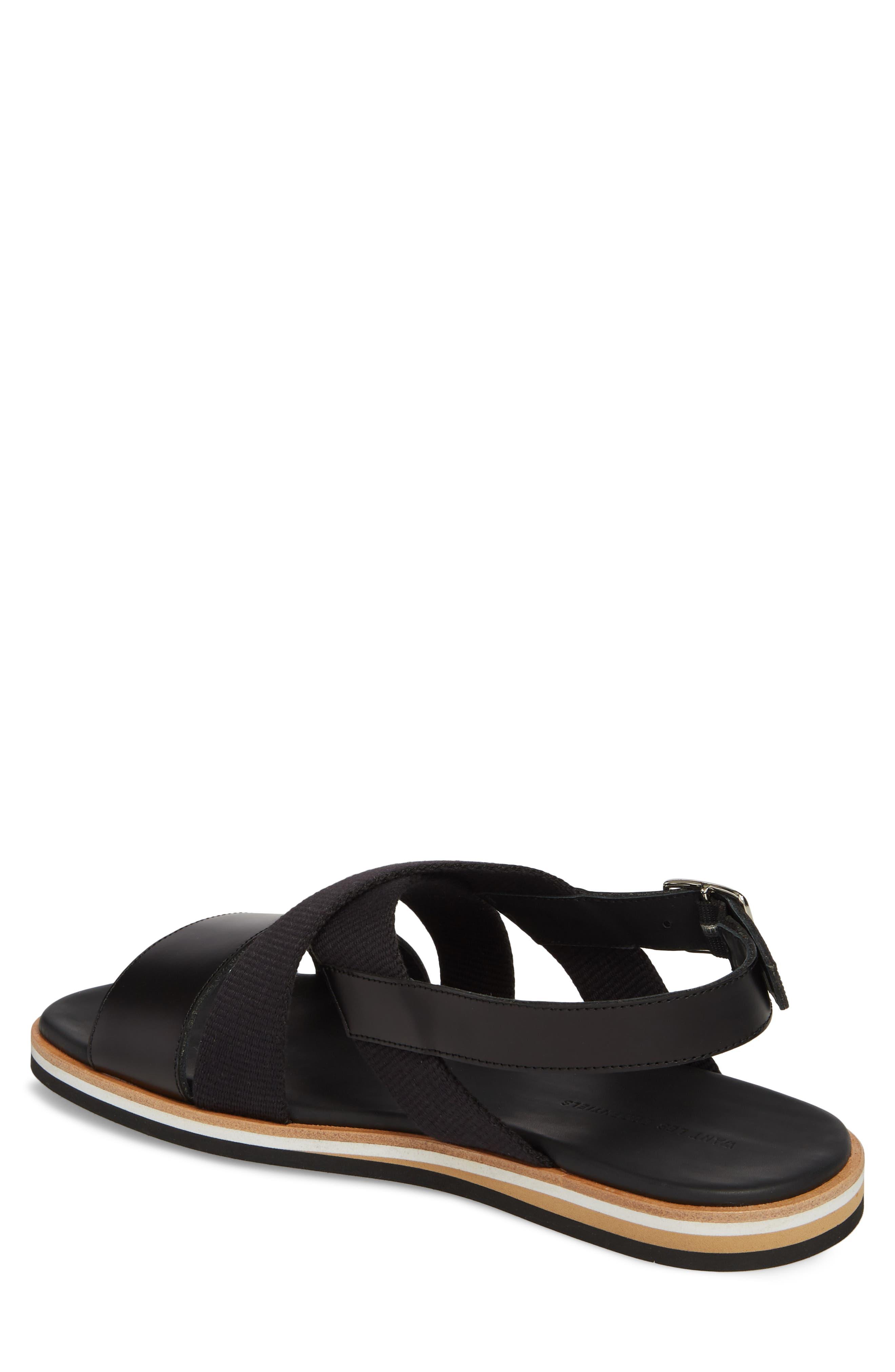 Jobim Sandal,                             Alternate thumbnail 2, color,                             Black Cord/ Black