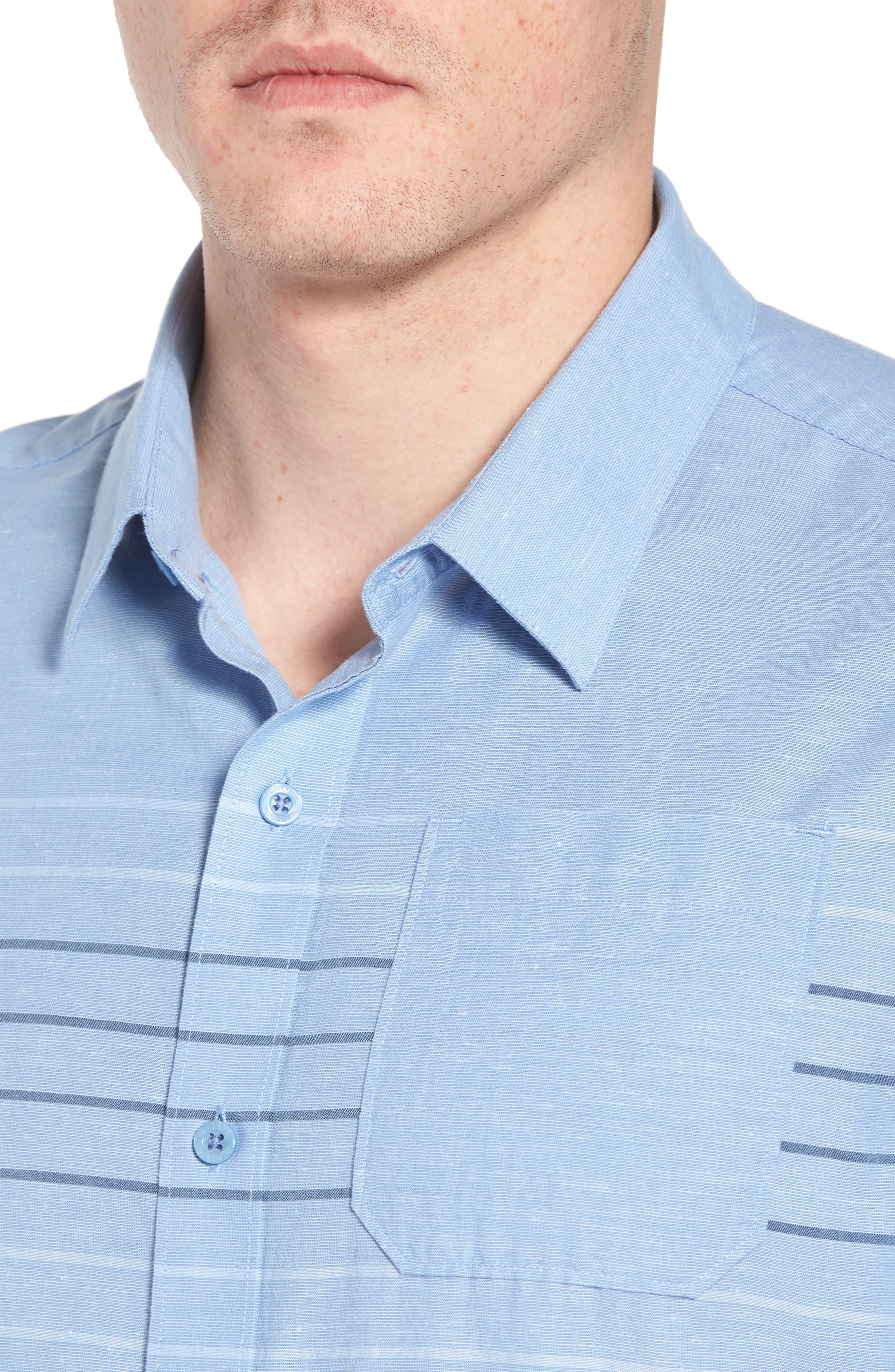 Canal Street Sport Shirt,                             Alternate thumbnail 2, color,                             Heather Allure