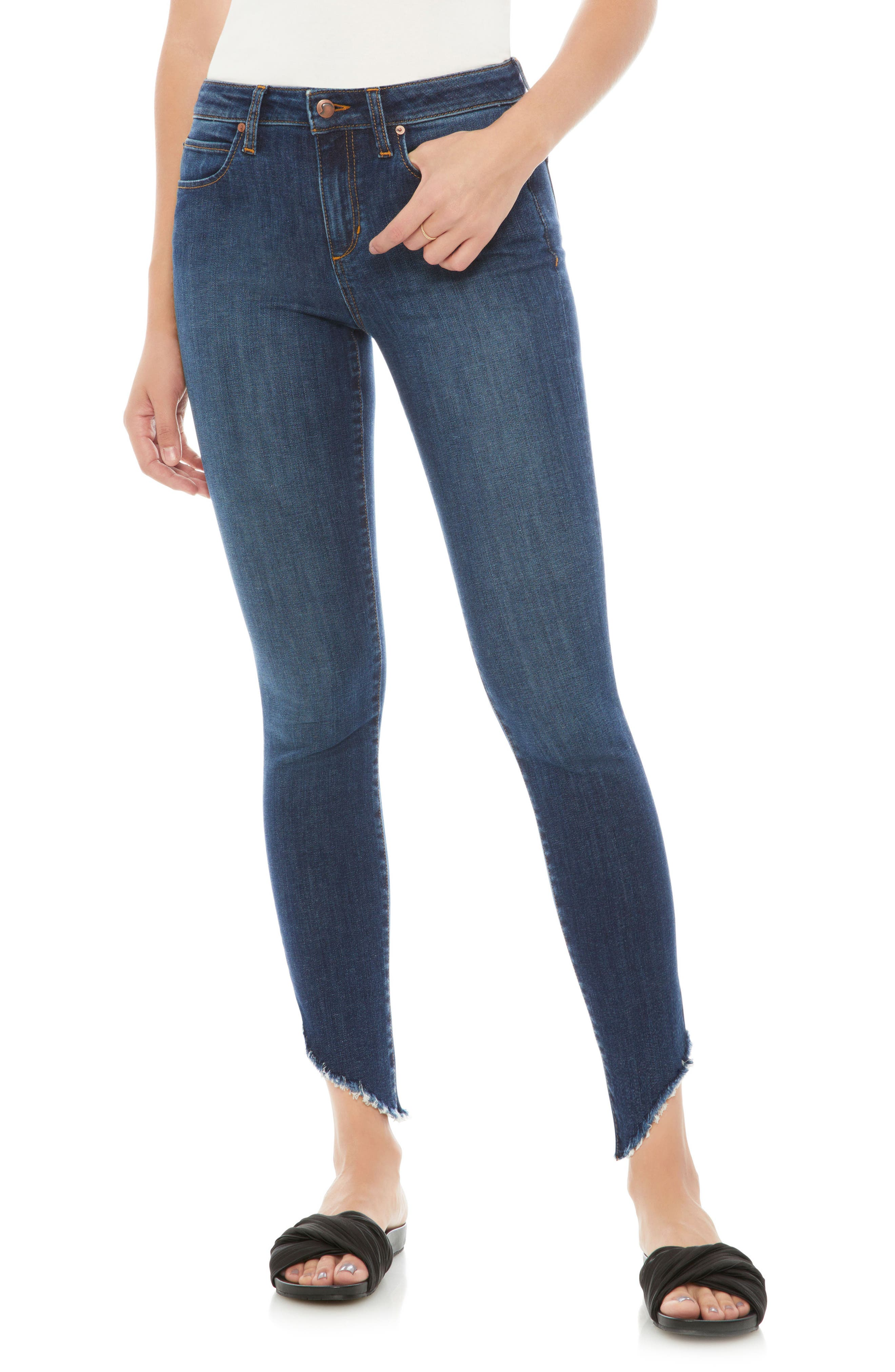Flawless - Icon Ankle Skinny Jeans,                             Main thumbnail 1, color,                             Lorna