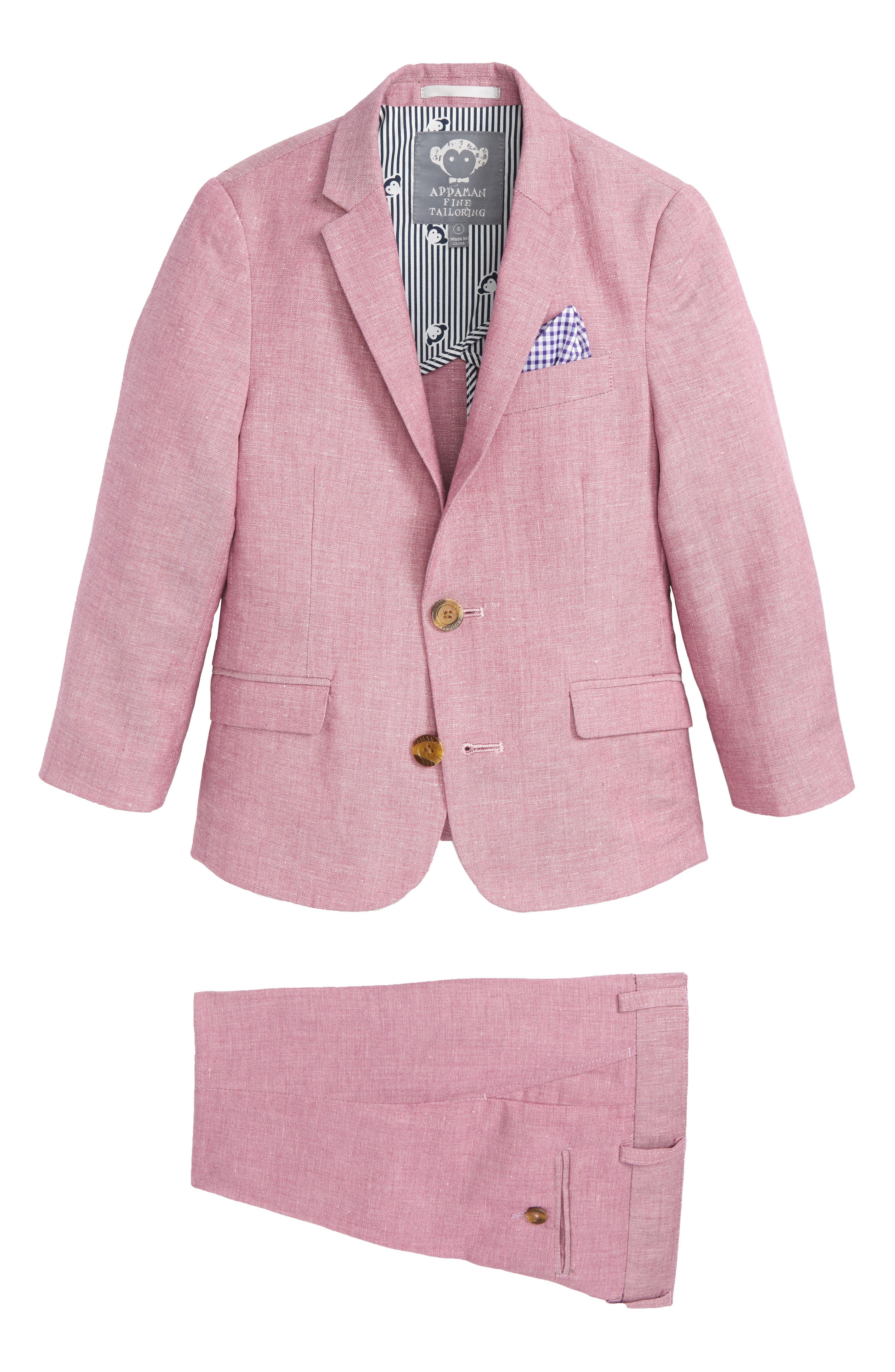 Appaman Two-Piece Modern Fashion Suit (Toddler Boys, Little Boys & Big Boys)