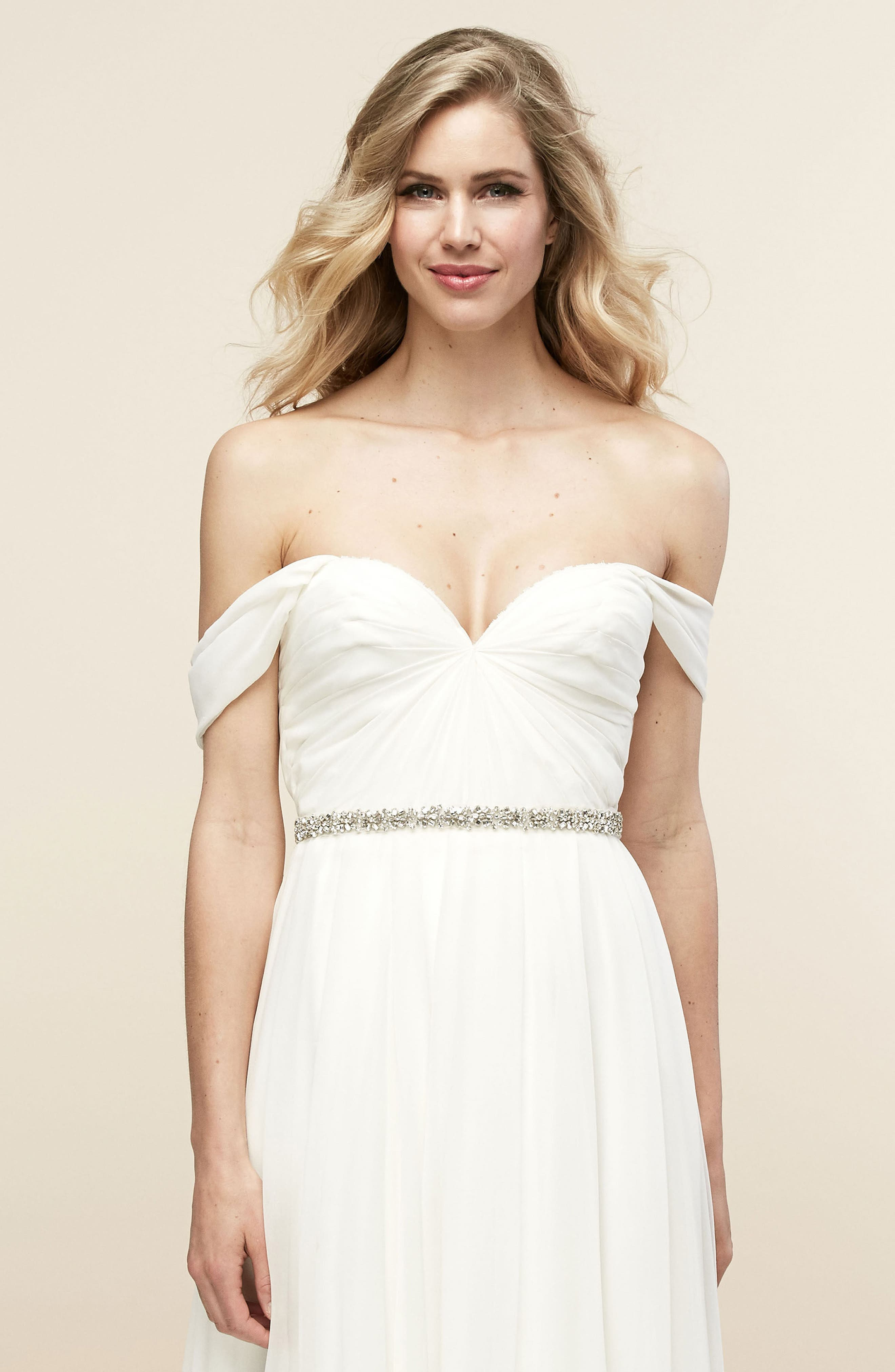 Cheap wedding dress sashes and belts uk top