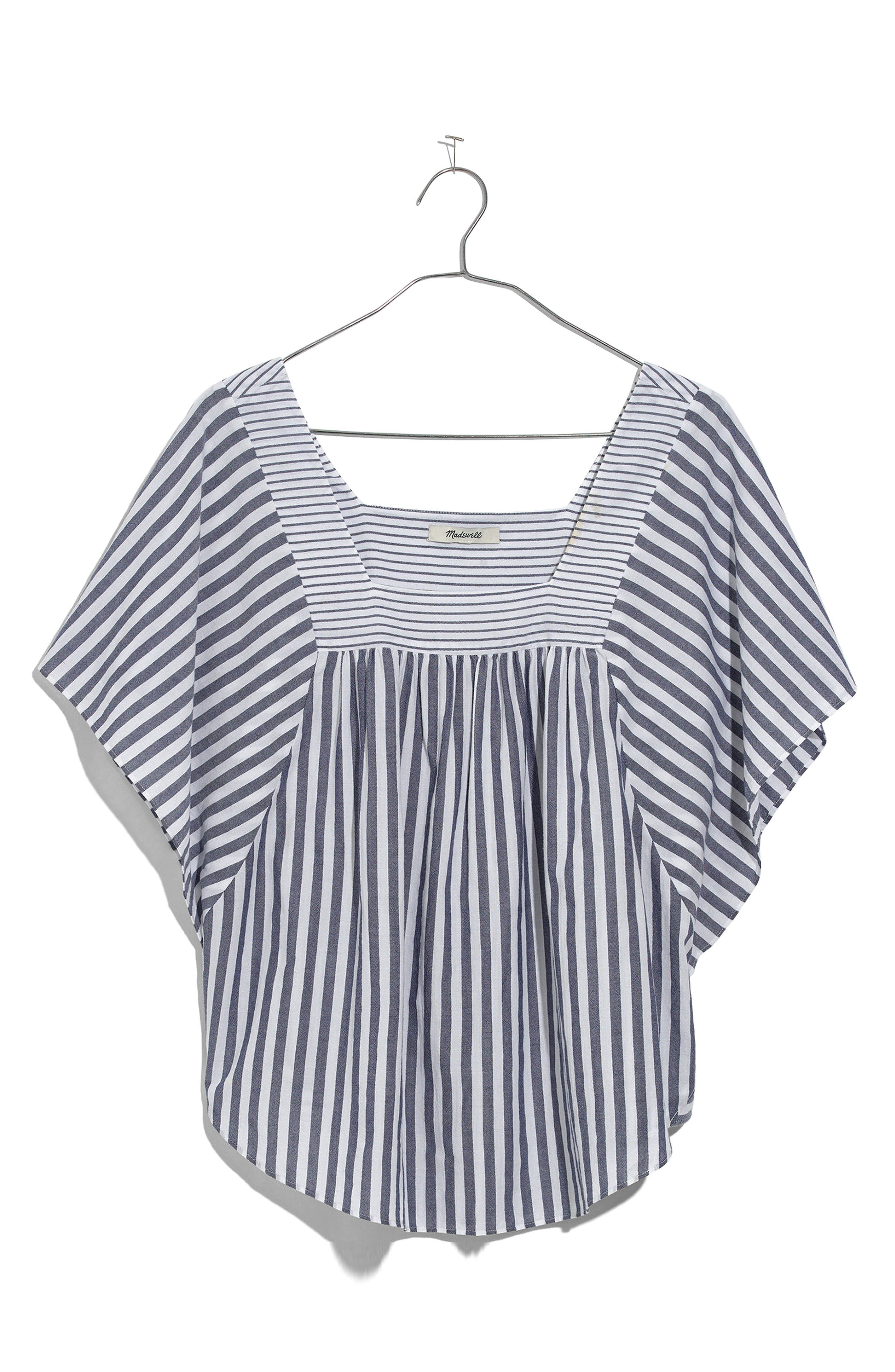 Alternate Image 4  - Madewell Stripe Butterfly Top