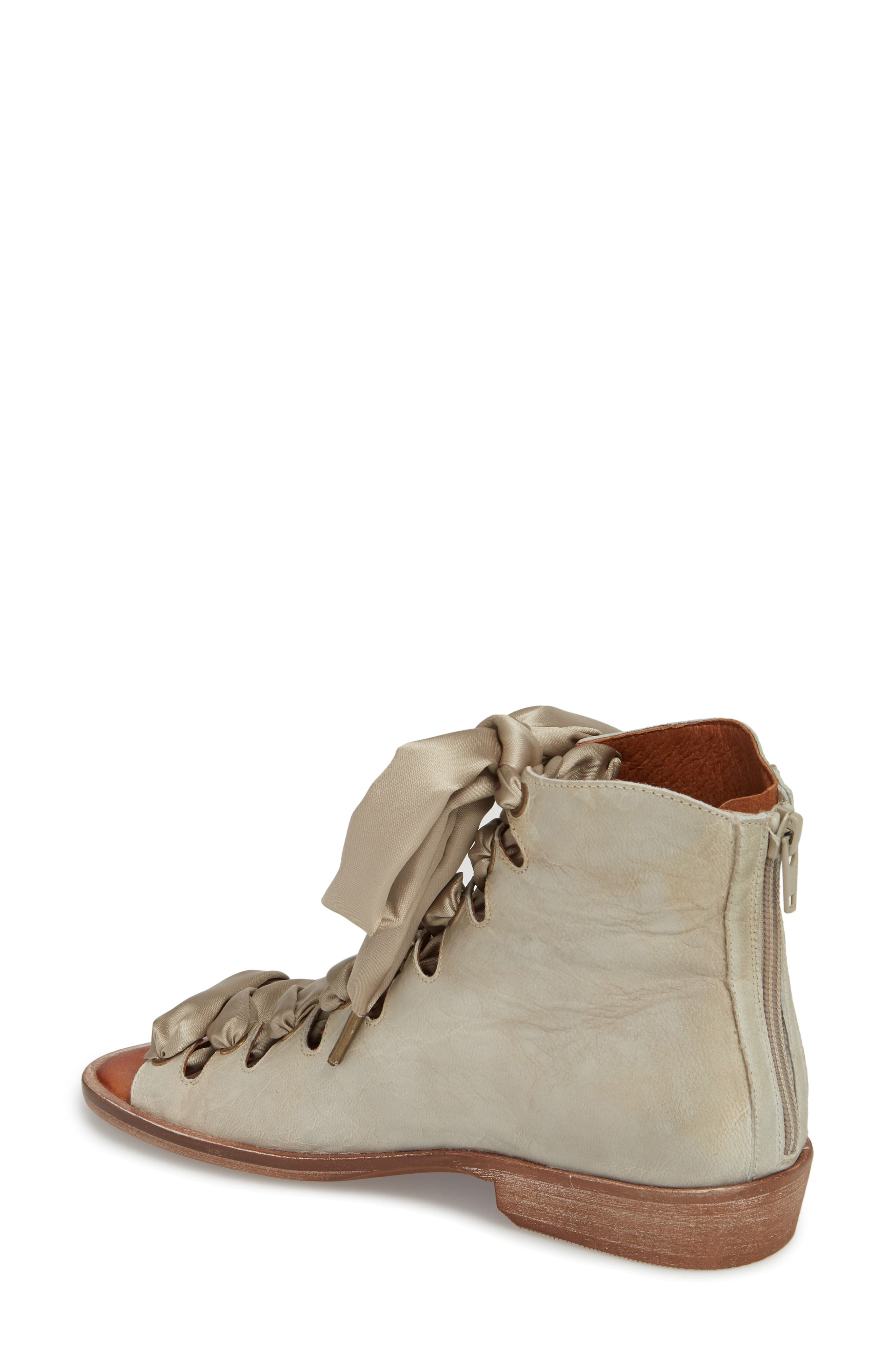 Alternate Image 2  - Free People Palms Lace-Up Bootie Sandal (Women)
